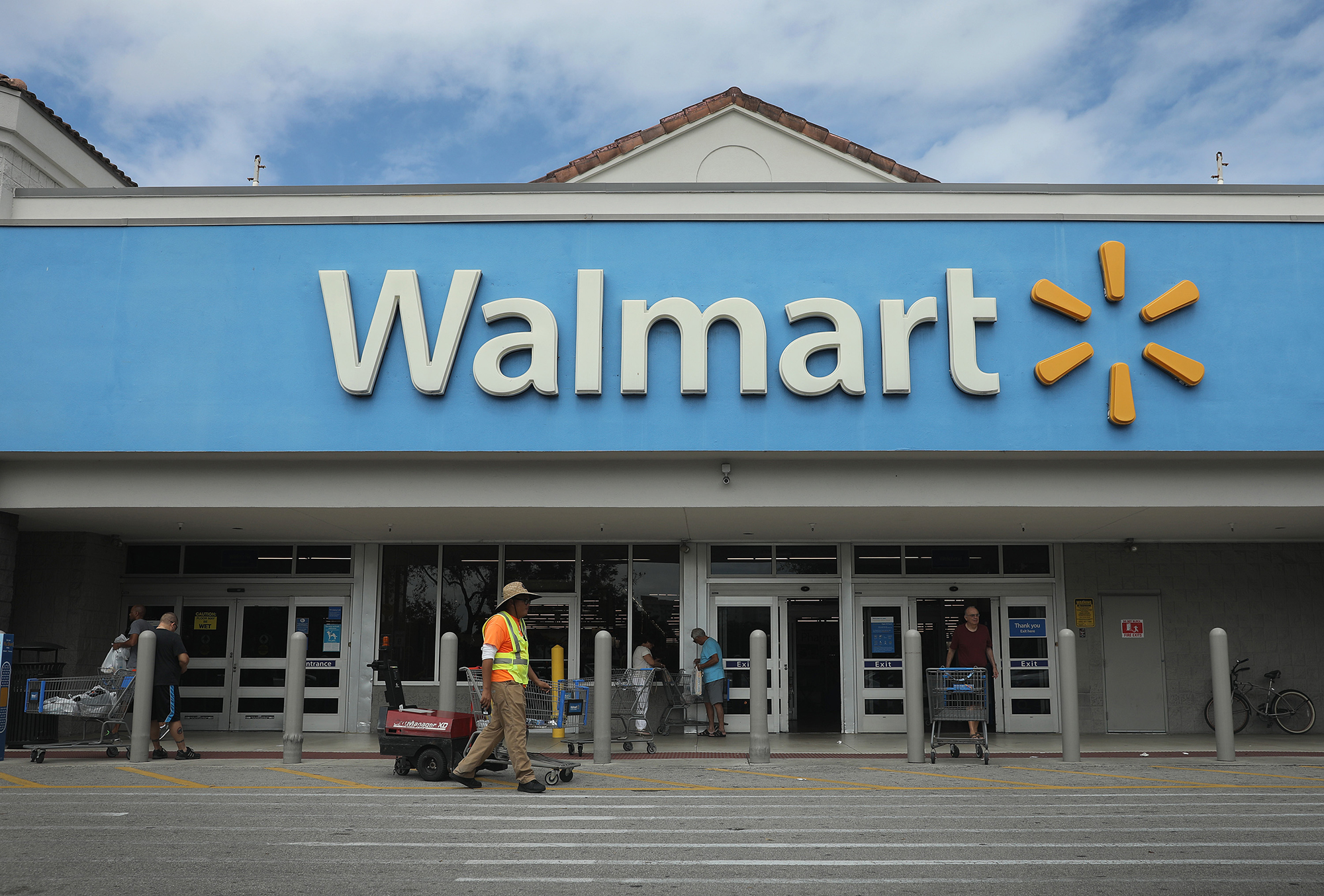 As nationwide protests continue, Walmart removes firearms and ammunition from some stores