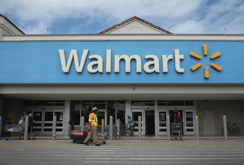 Image for As nationwide protests continue, Walmart removes firearms and ammunition from some stores