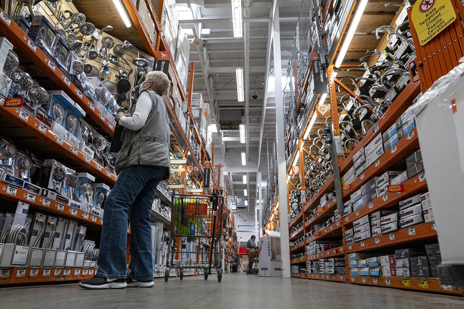 Ordering a power tool from Home Depot? Walmart may be the one delivering it to you