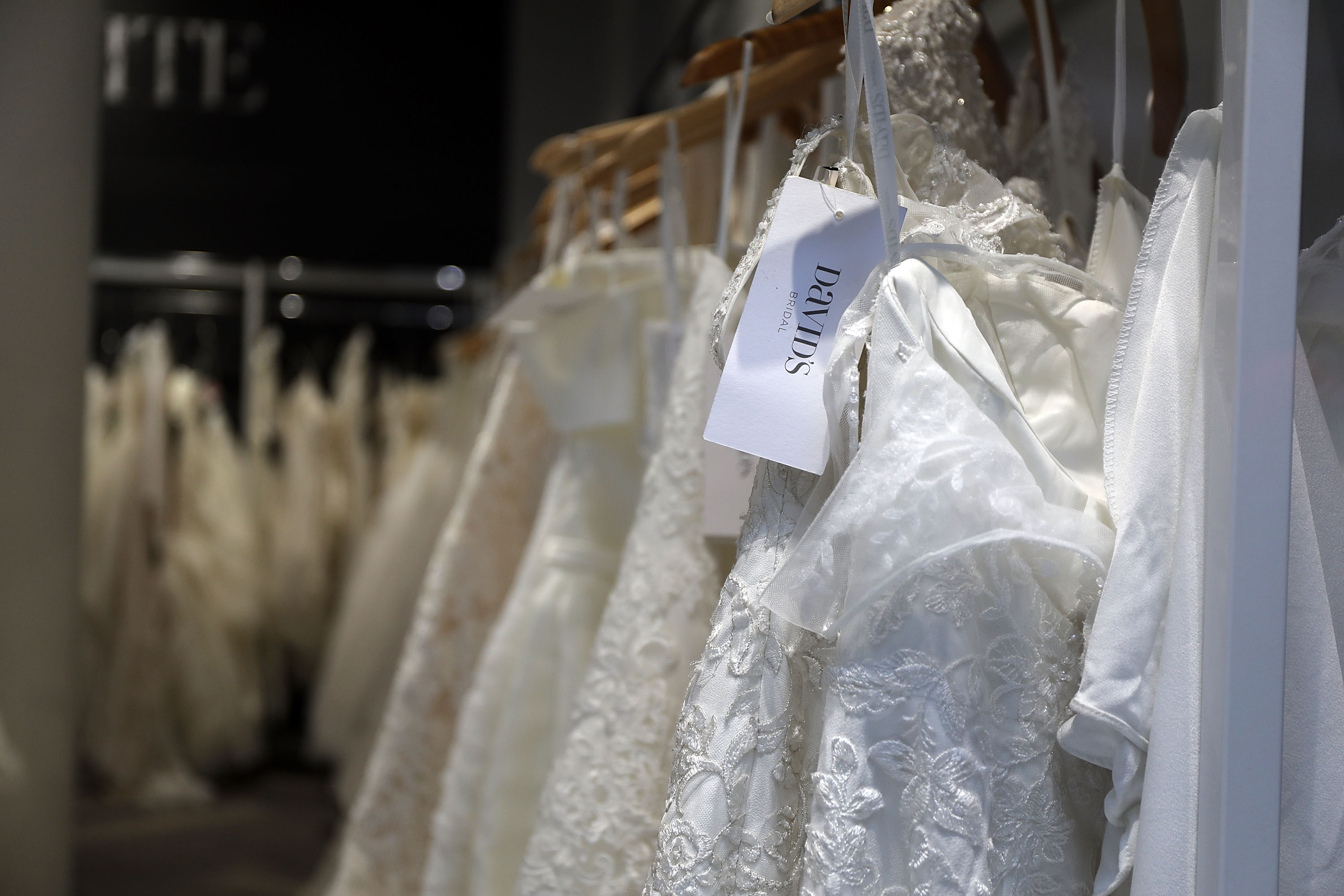 Bridal gowns could be in short supply for wedding season because of coronavirus