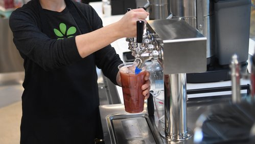 Image for Whole Foods will ban plastic straws and offer smaller produce bags
