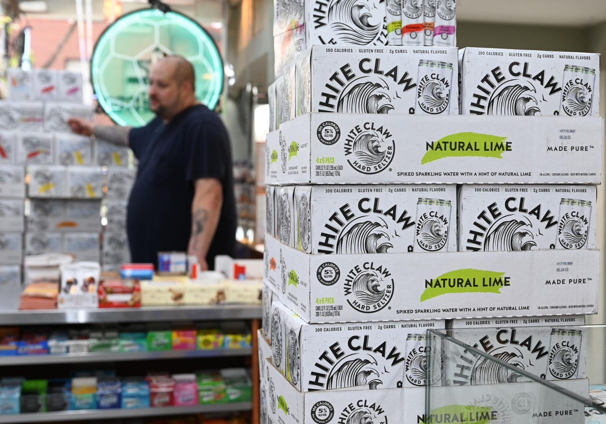 Why America has a White Claw shortage