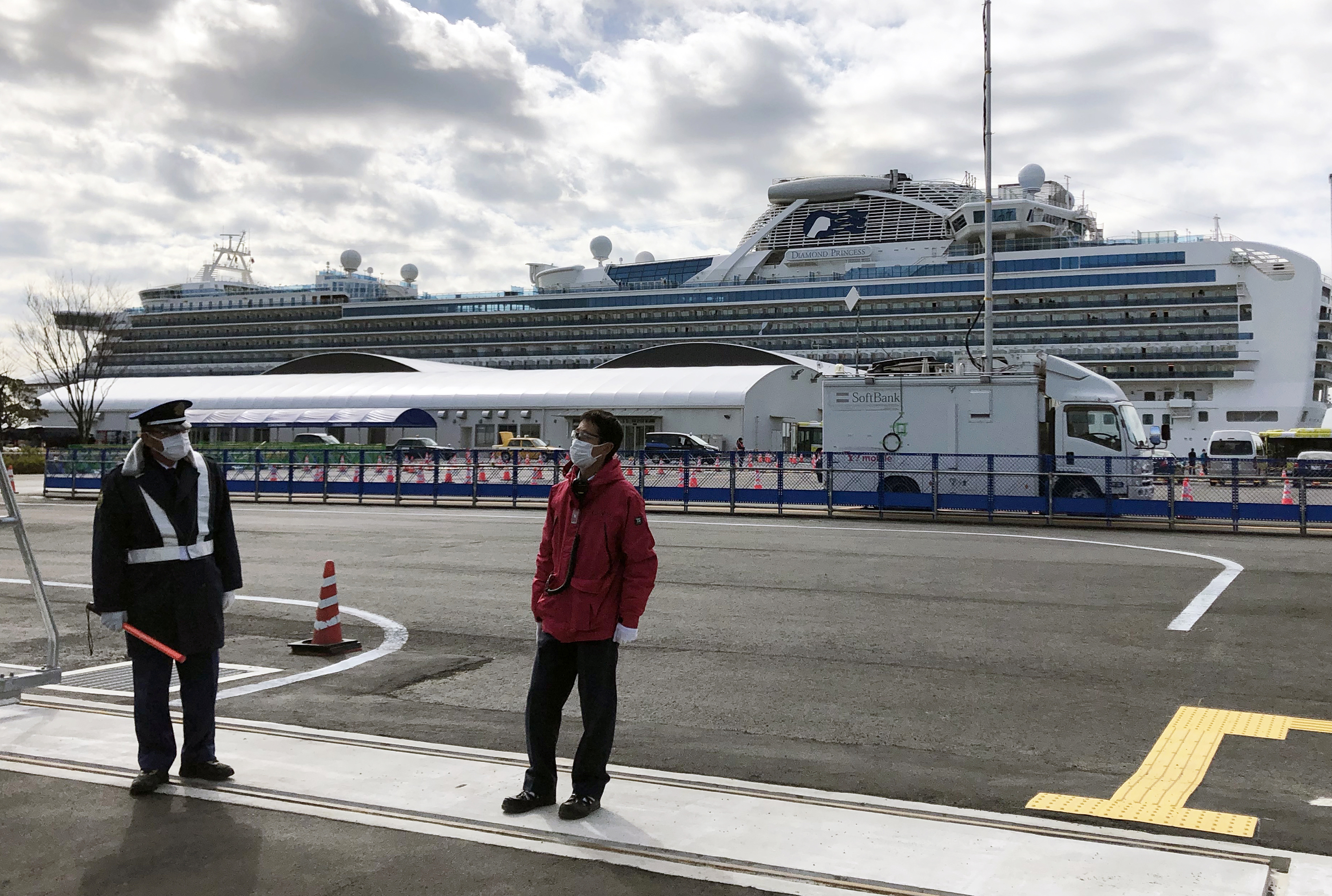 Cruise lines are big losers on Wall Street this week — and there are few winners