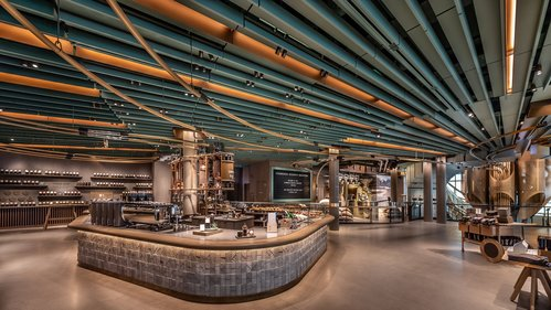 Image for Starbucks opens its biggest store ever