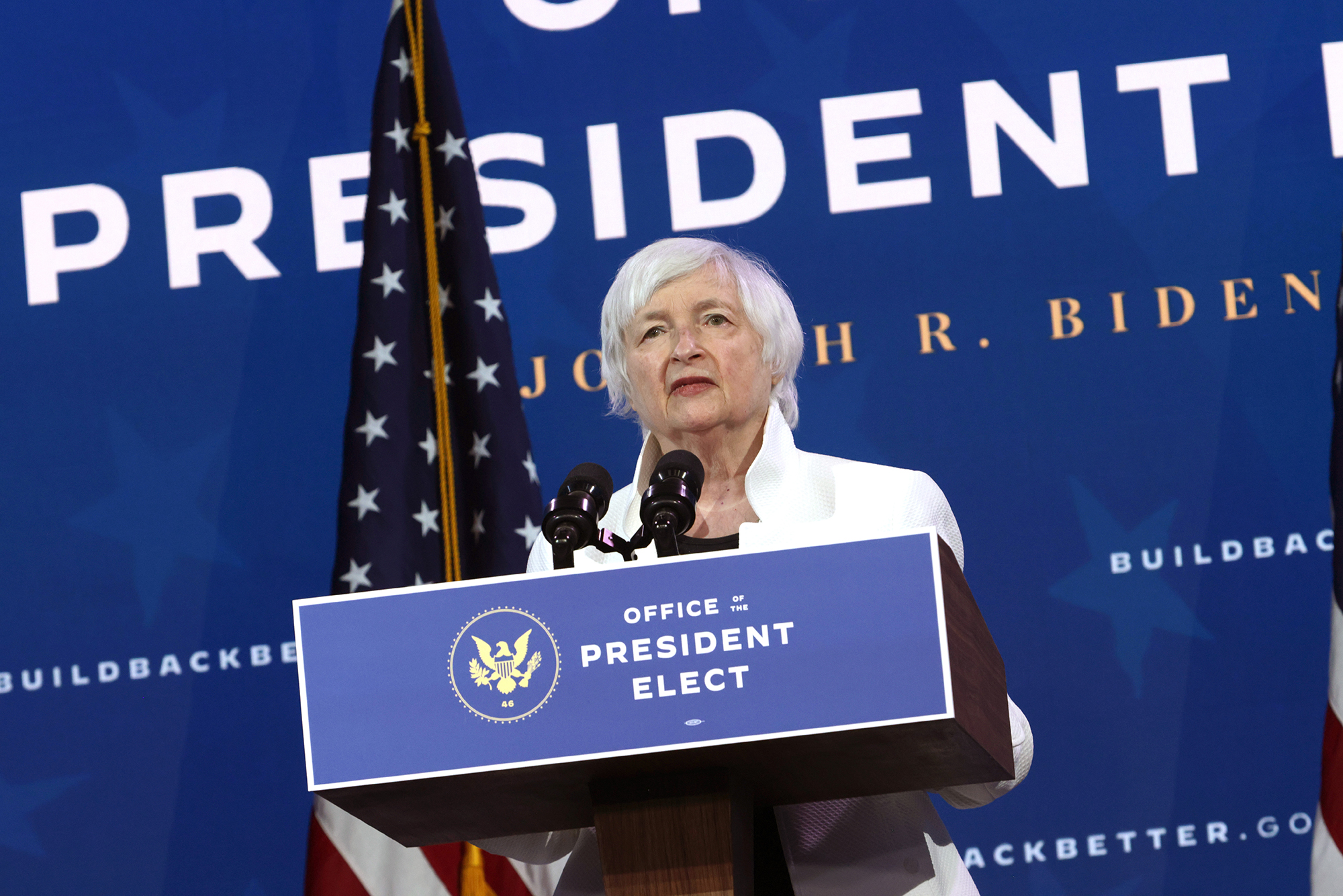 Yellen to urge lawmakers to 'act big' on relief spending