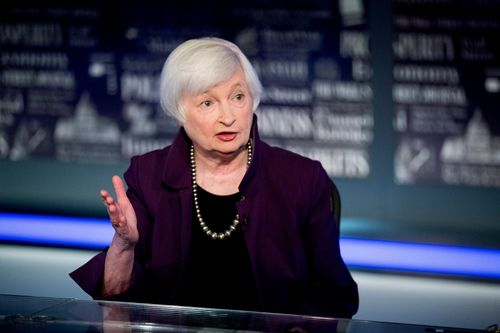Image for Janet Yellen is confirmed as the first female Treasury secretary in US history
