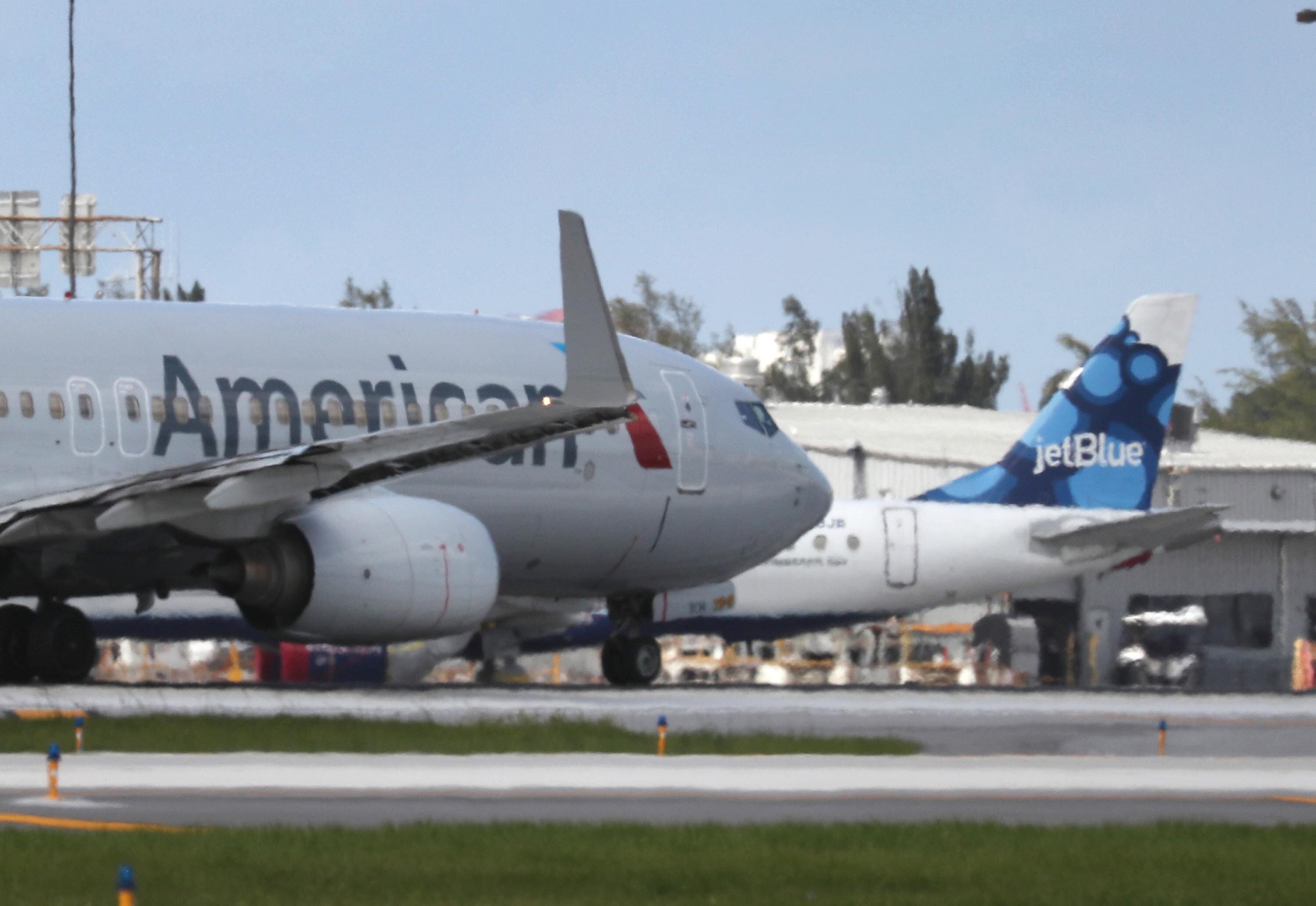 American Airlines and JetBlue sued by DOJ over their airline alliance