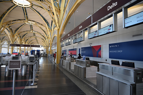 Image for Delta CEO: 'Well over 100 people' have been banned from flying after refusing to wear masks