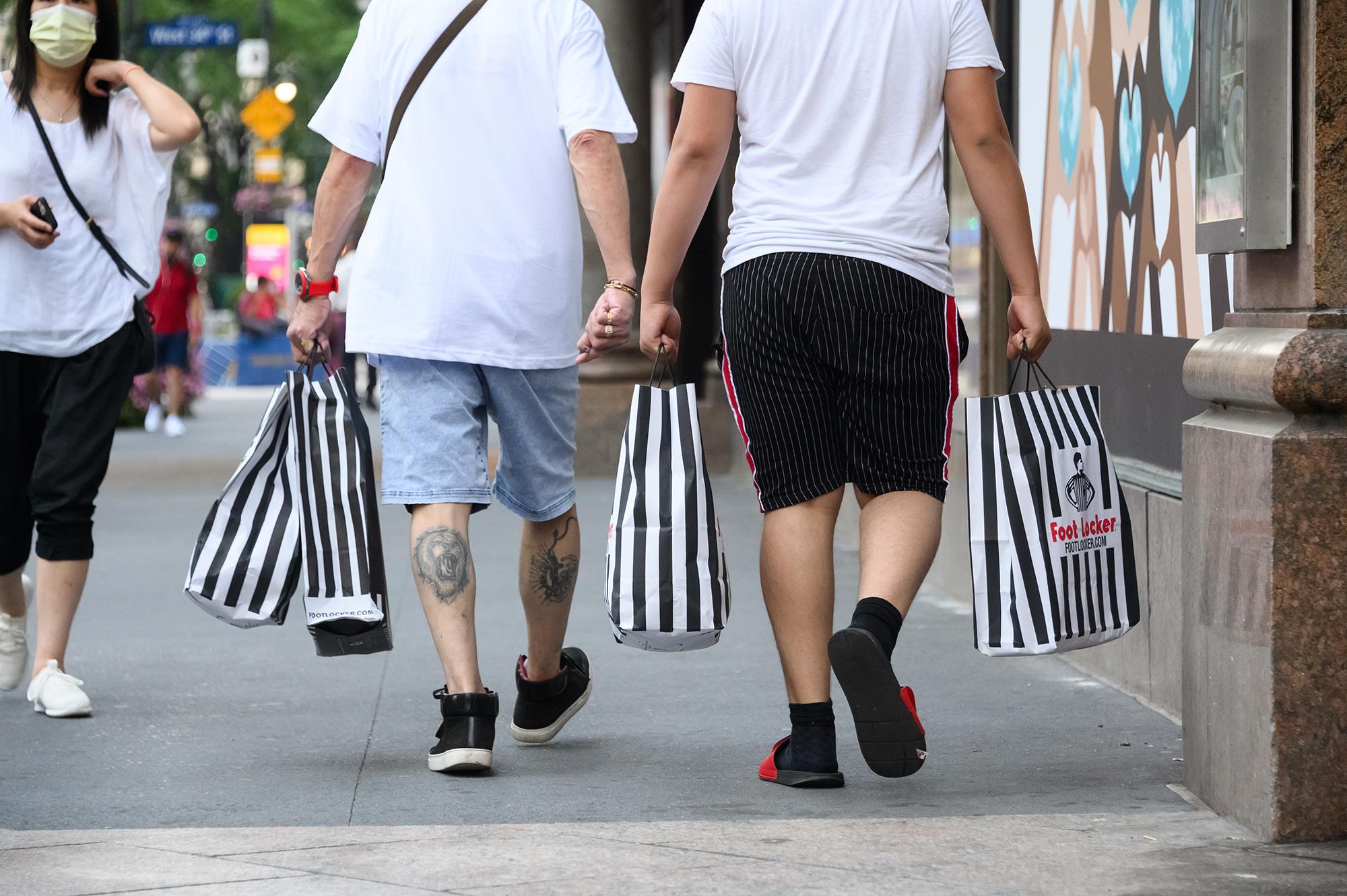Foot Locker is booming as people spend their stimulus on sneakers