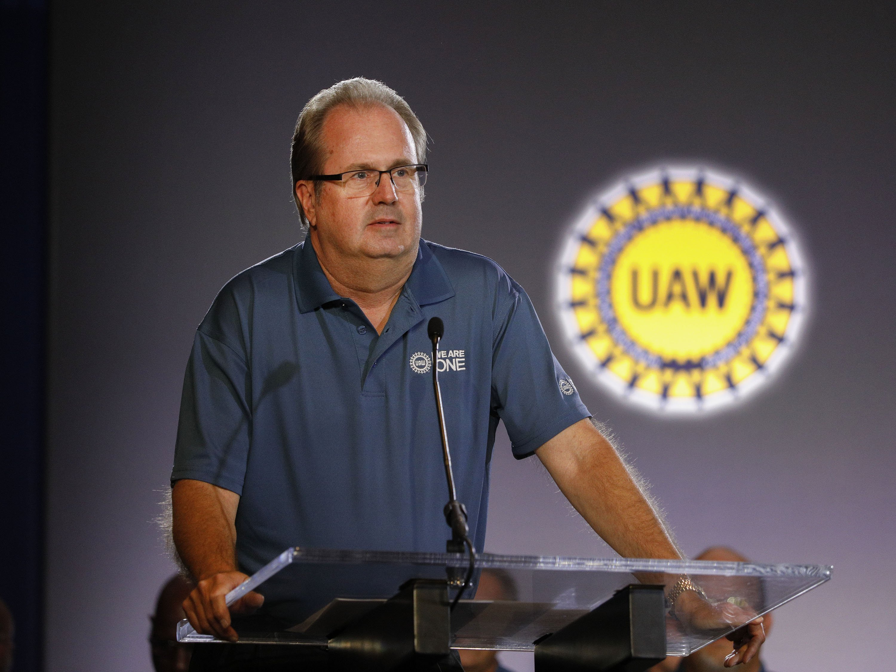 Embattled UAW president resigns amid internal charges of misusing union funds