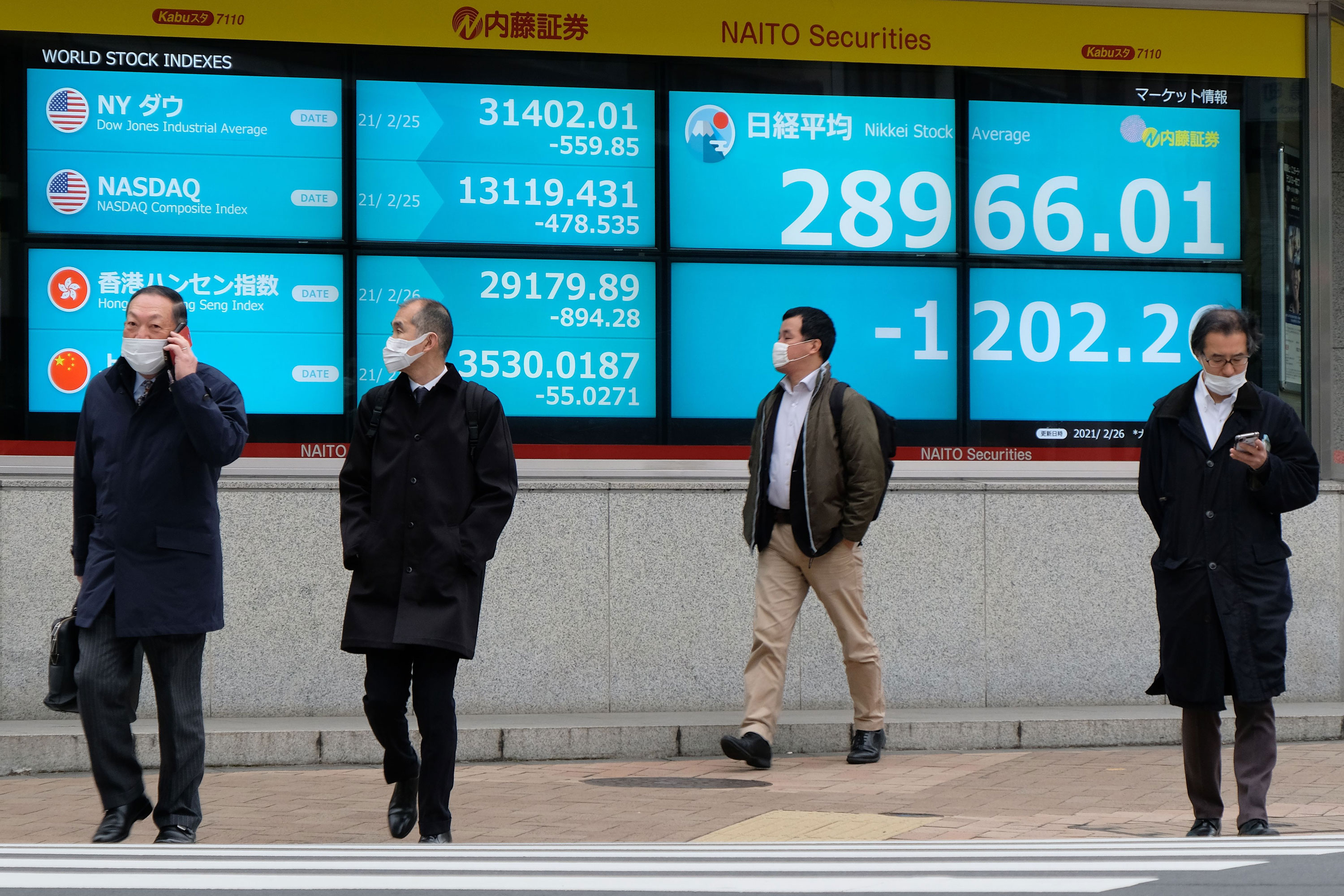 Global stocks routed as inflation fears dominate
