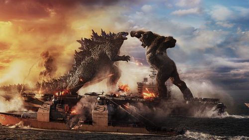 Image for 'Godzilla vs. Kong' is the biggest hit of the pandemic