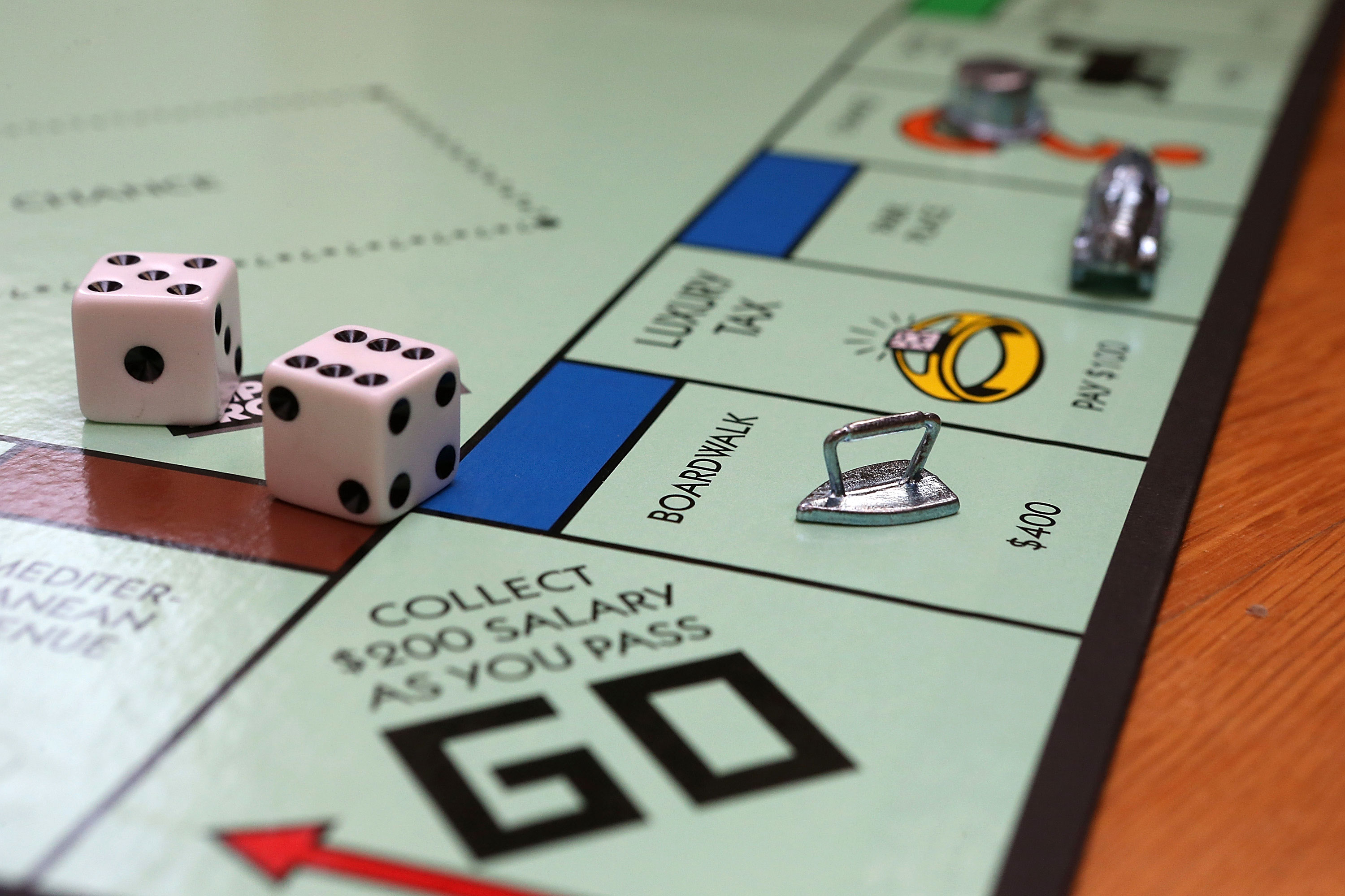 Families are bored, so Monopoly sales are soaring