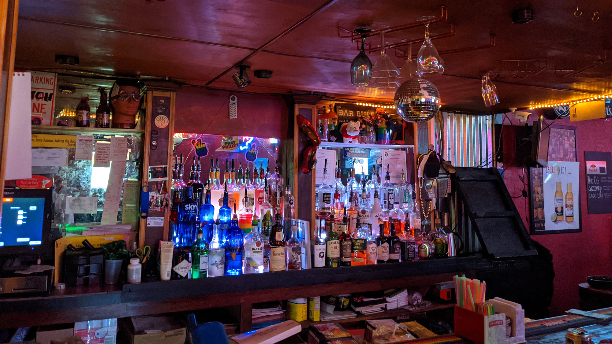 There are roughly two dozen lesbian bars in the United States. The ones that are left are evolving to survive