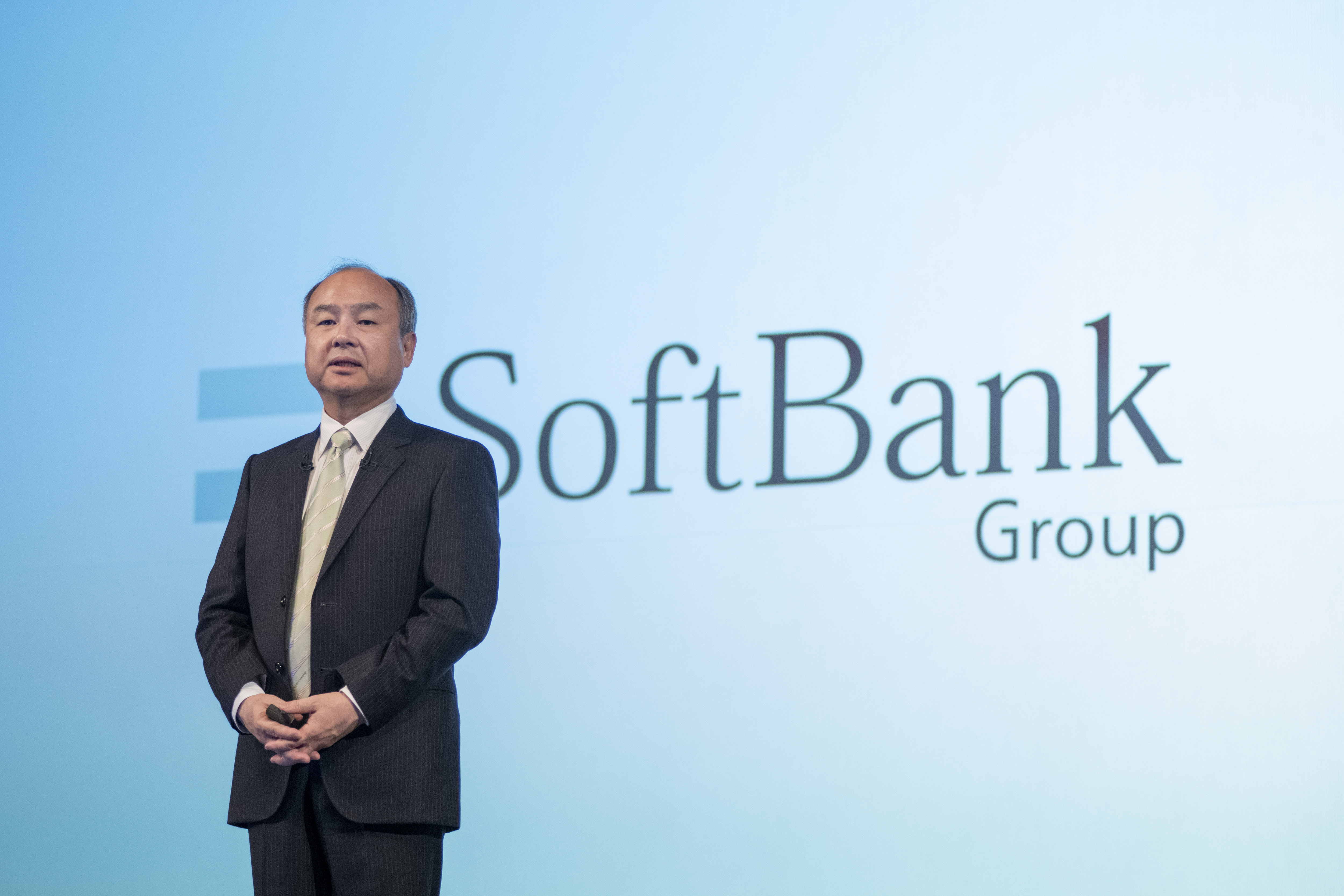Defense pays off for SoftBank's Masa Son