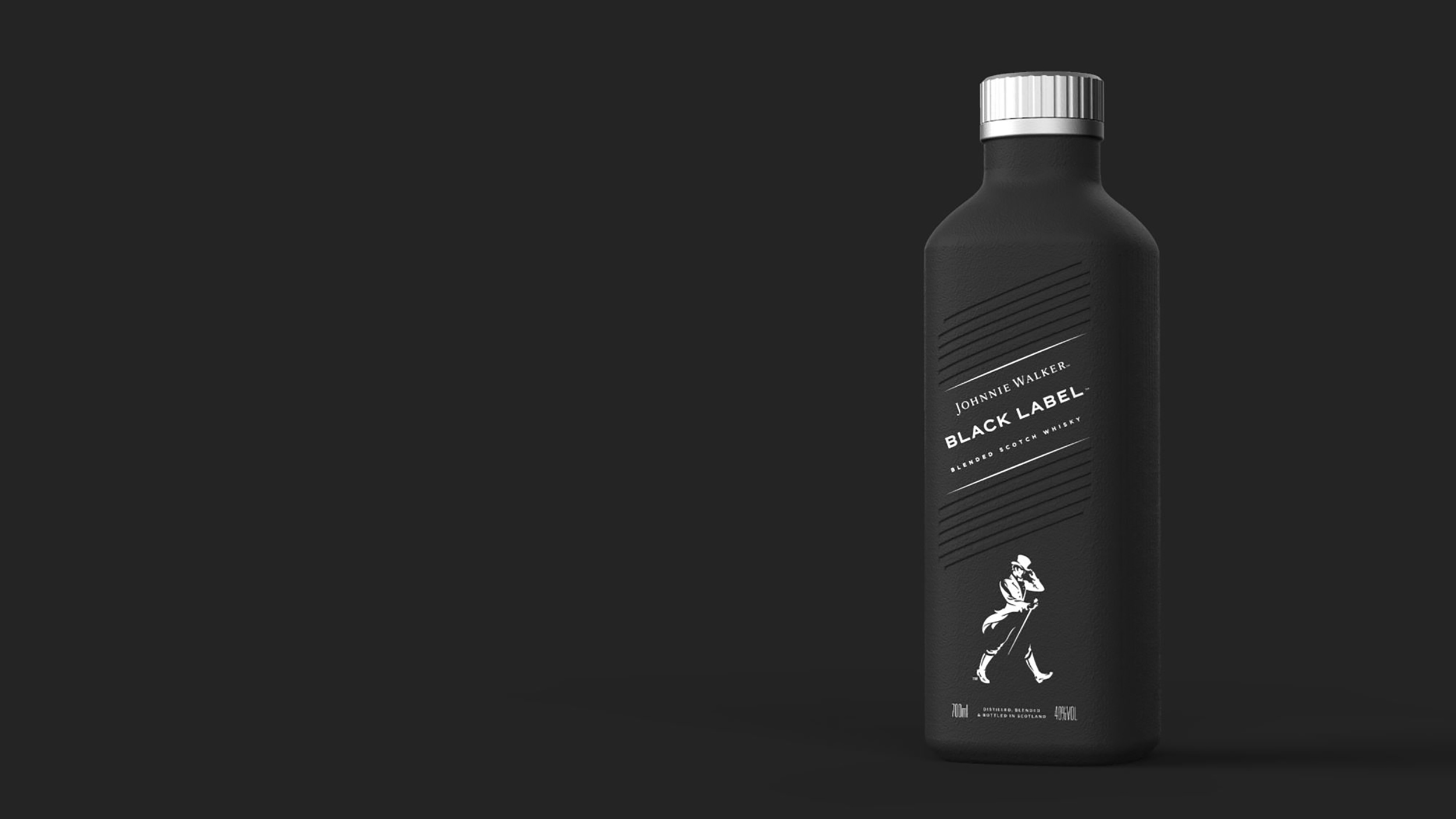 Johnnie Walker whisky will be sold in paper bottles next year