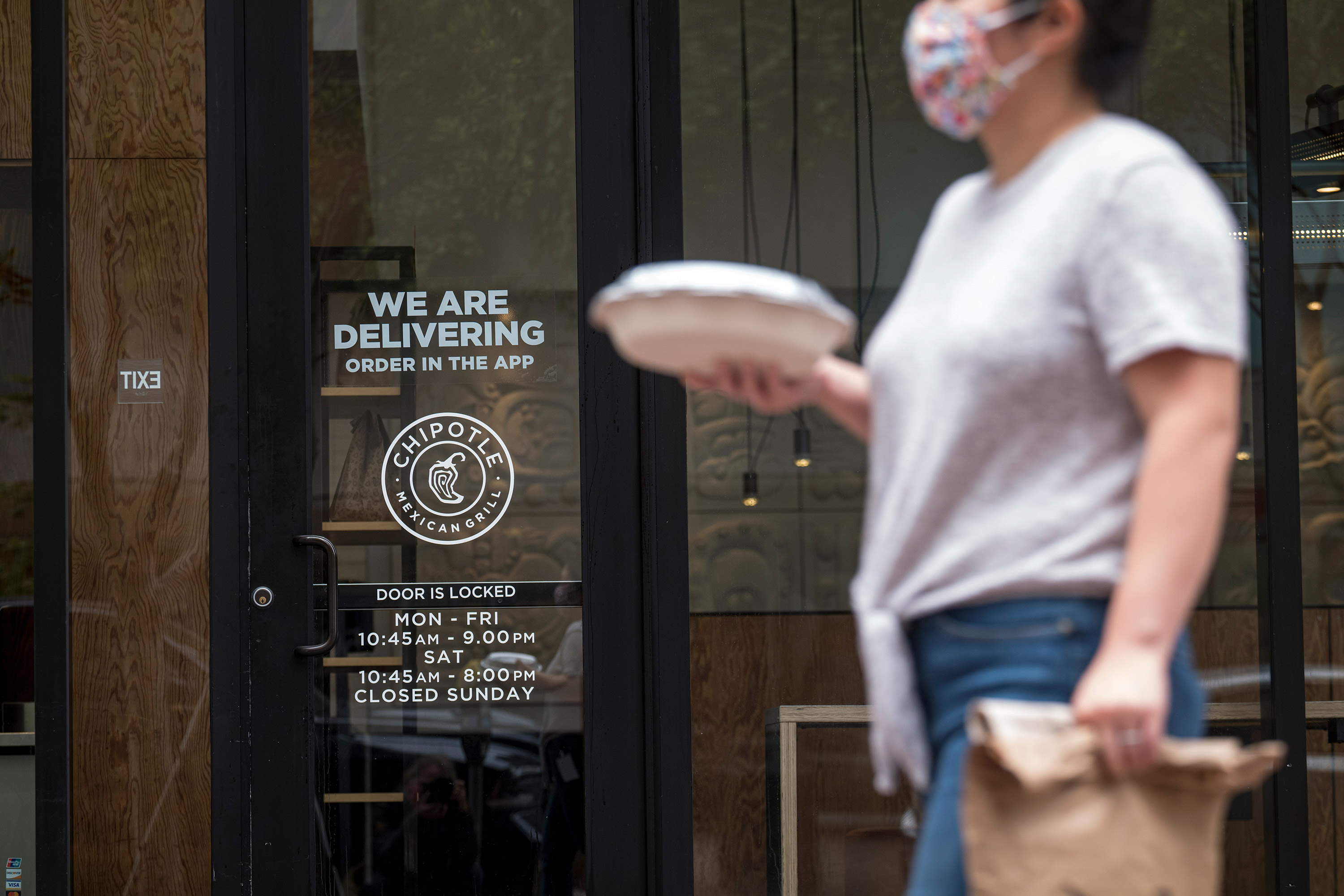 Chipotle is testing curbside pickup