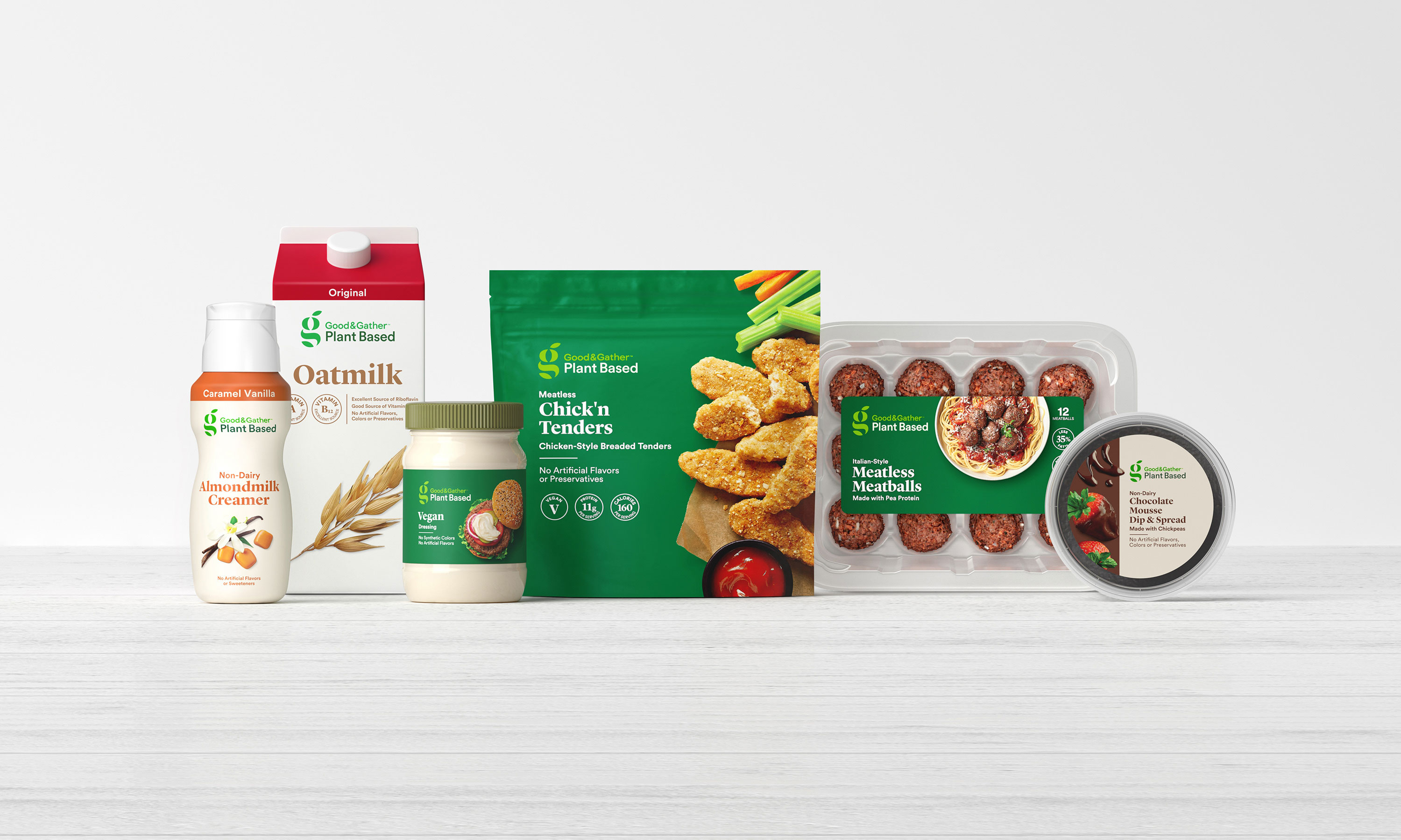 Target is launching a line of plant-based food