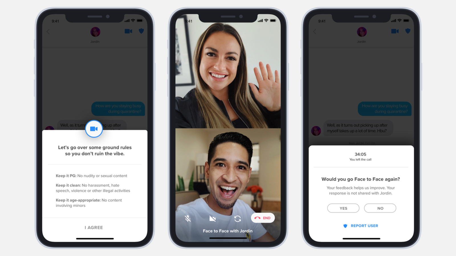 Tinder is testing video chat -- a feature for the quarantine times