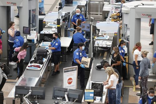 Image for TSA tops 1 million passenger screenings for the first time since March