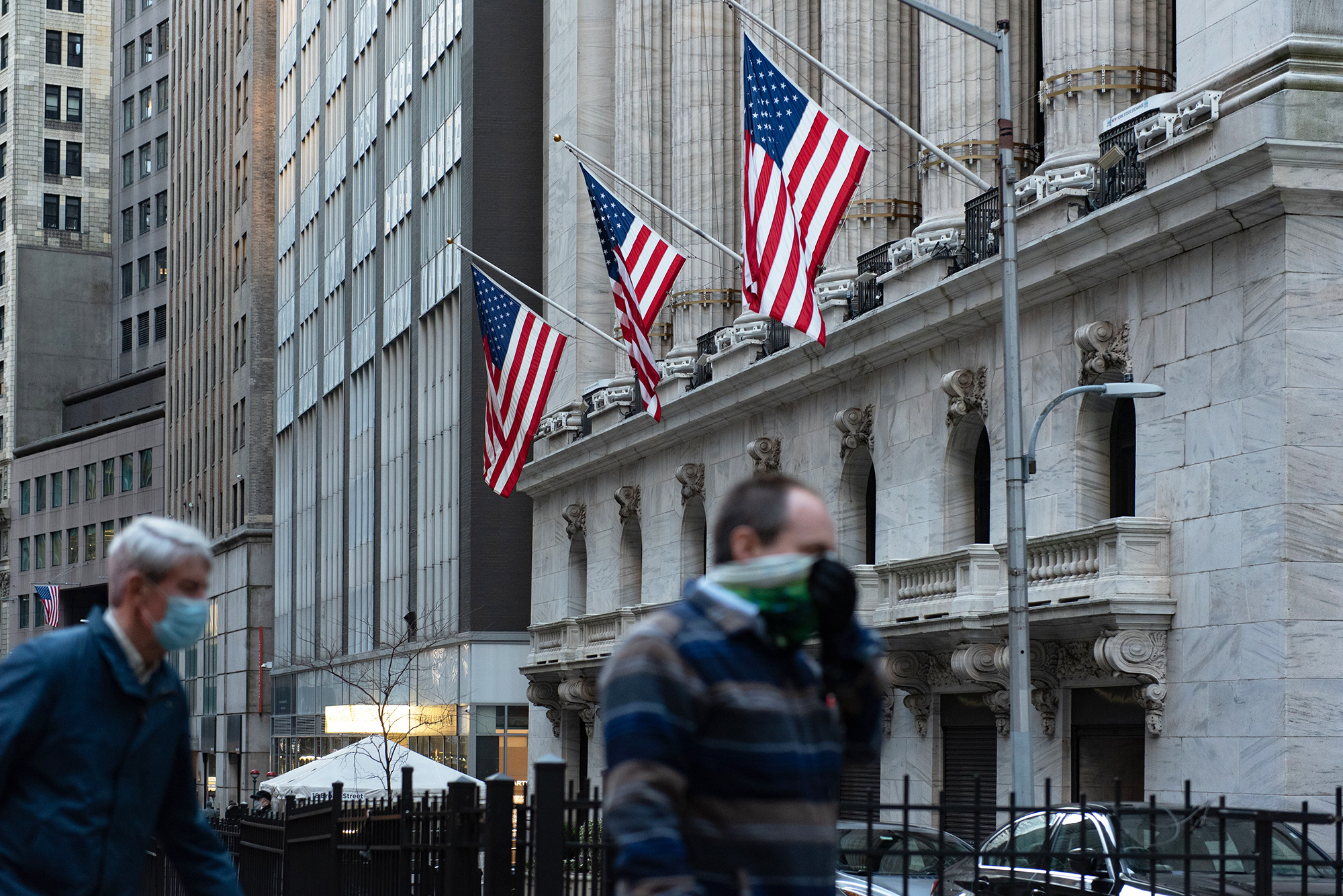 S&P 500 and Nasdaq hit record highs as volatility grips Wall Street