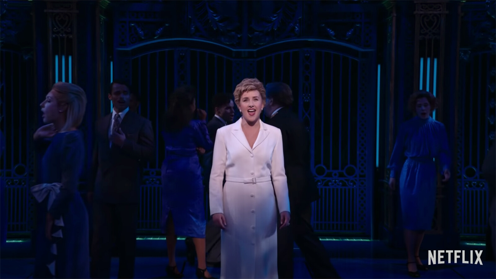 'Diana: The Musical' brings the stage to Netflix, but 'The Crown' hangs over its head