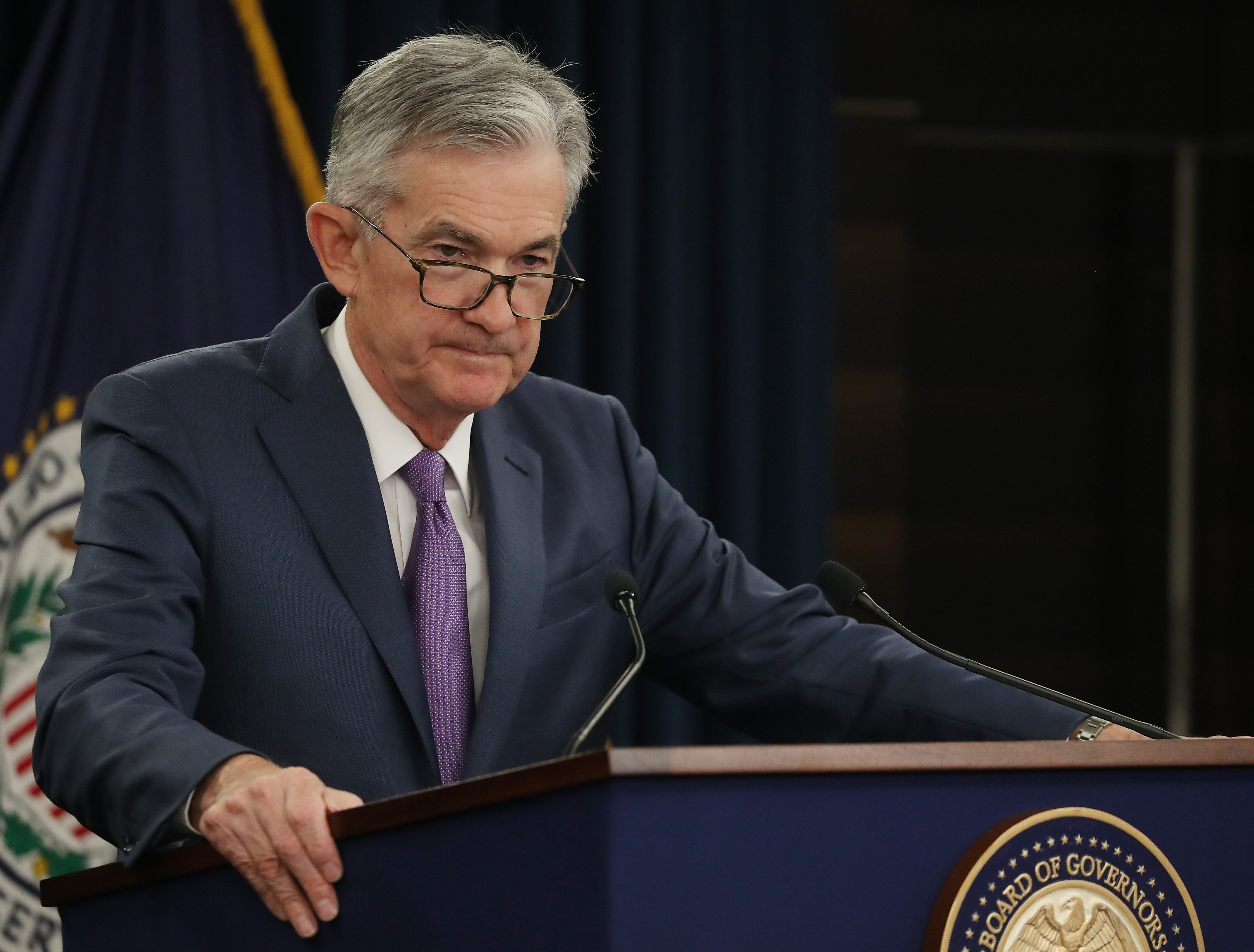Fed chair Powell has kept markets calm, but now he has to reassure American shoppers