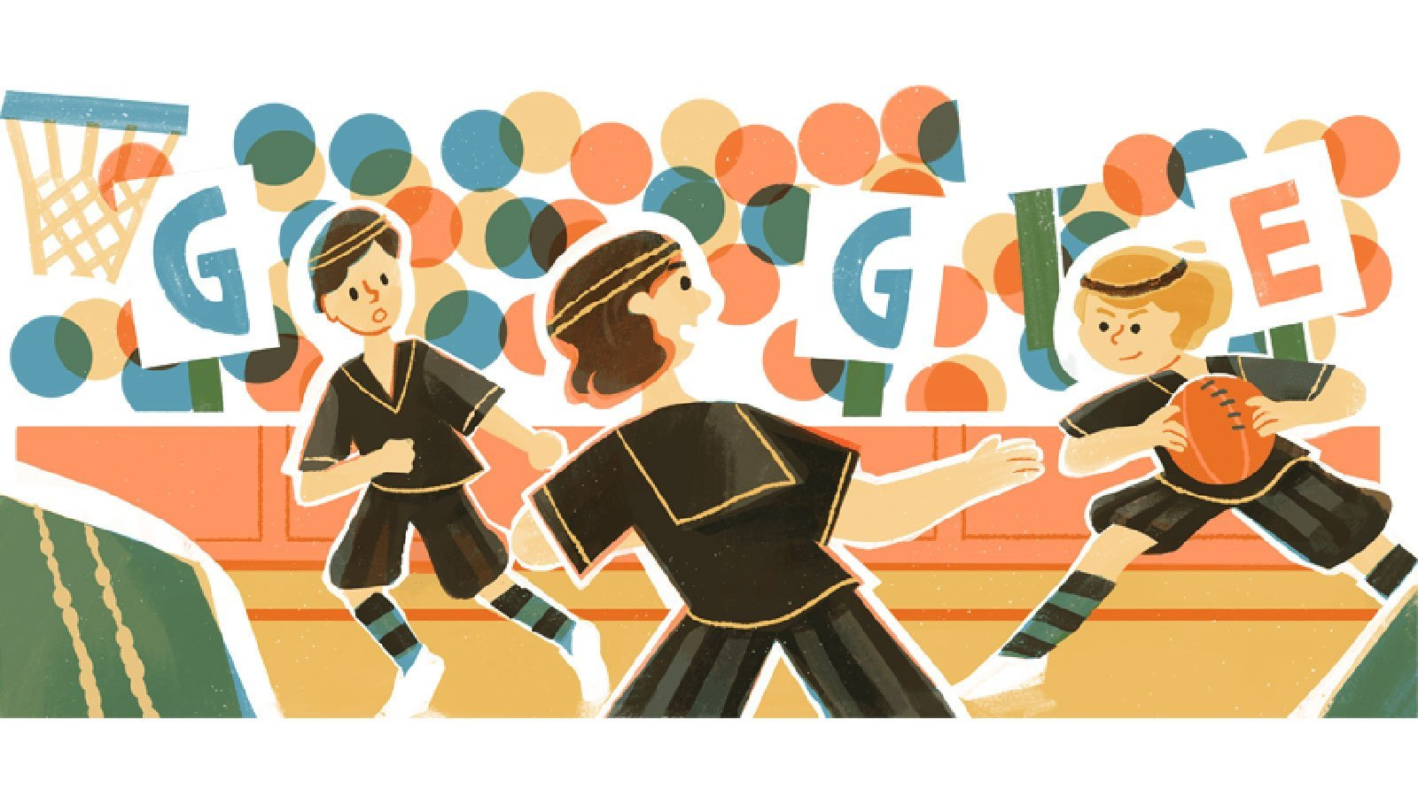 Google Doodle celebrates basketball's legendary Edmonton Grads