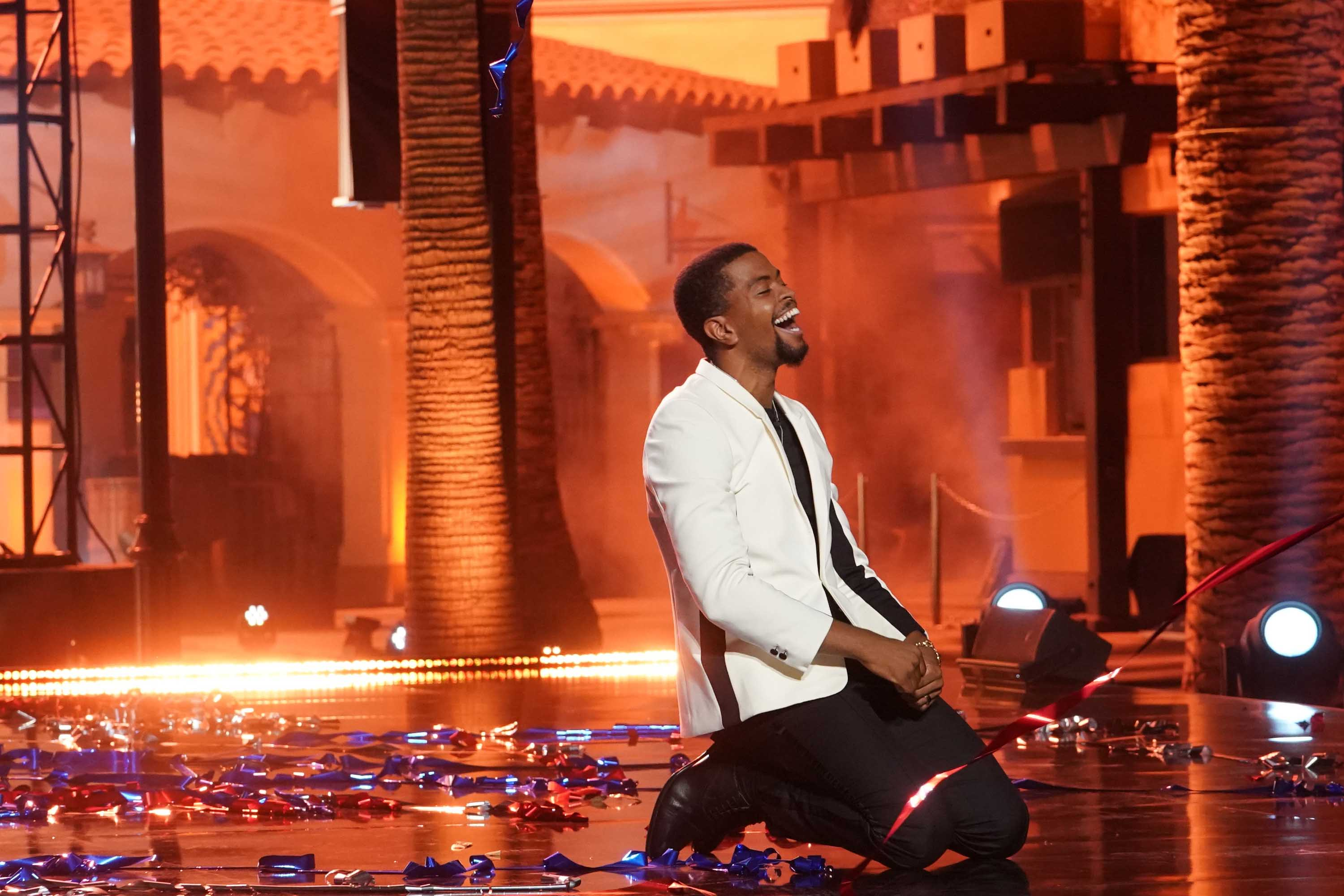 'America's Got Talent' winner is spoken word poet Brandon Leake