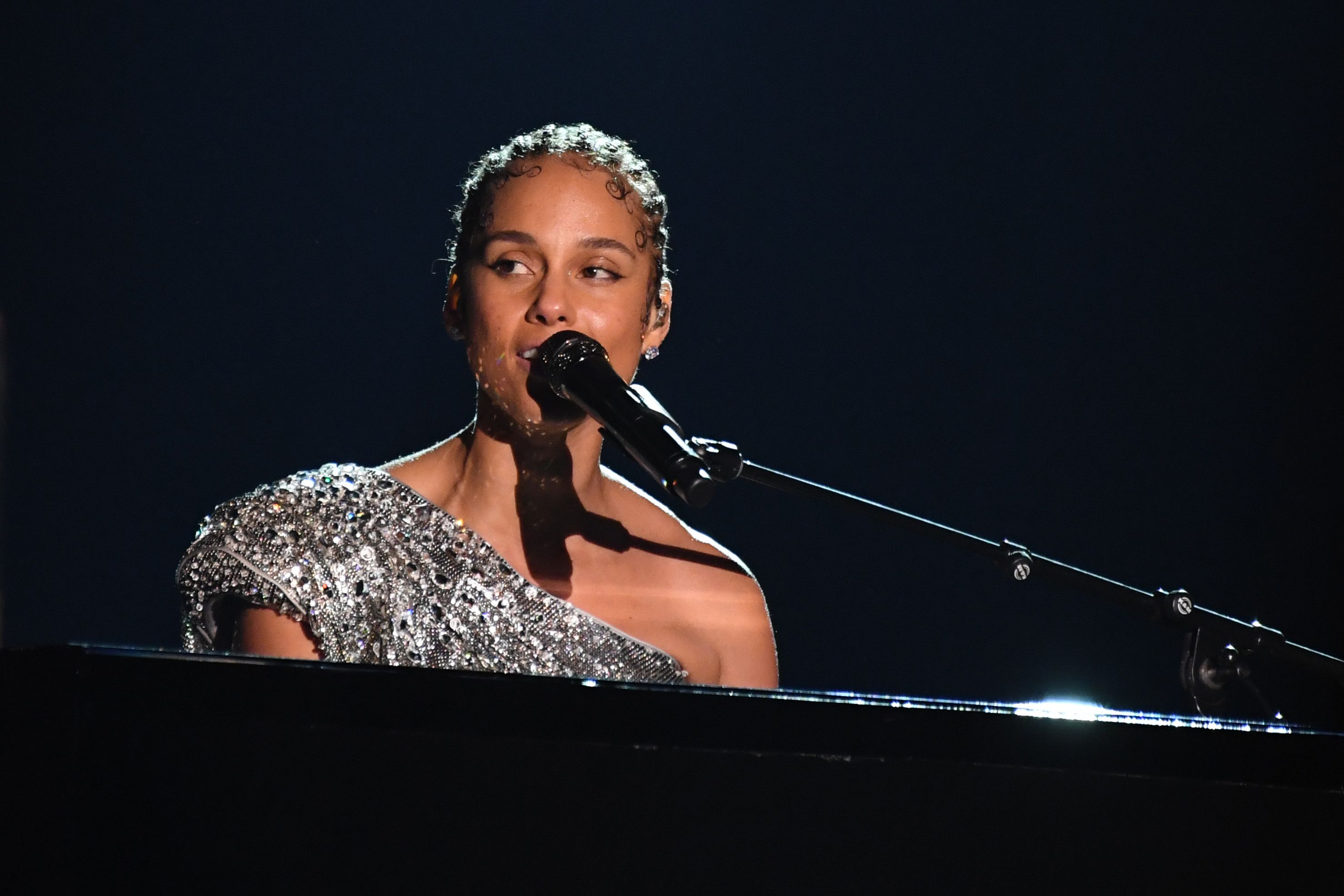 Read the lyrics to Alicia Keys' healing Grammys song