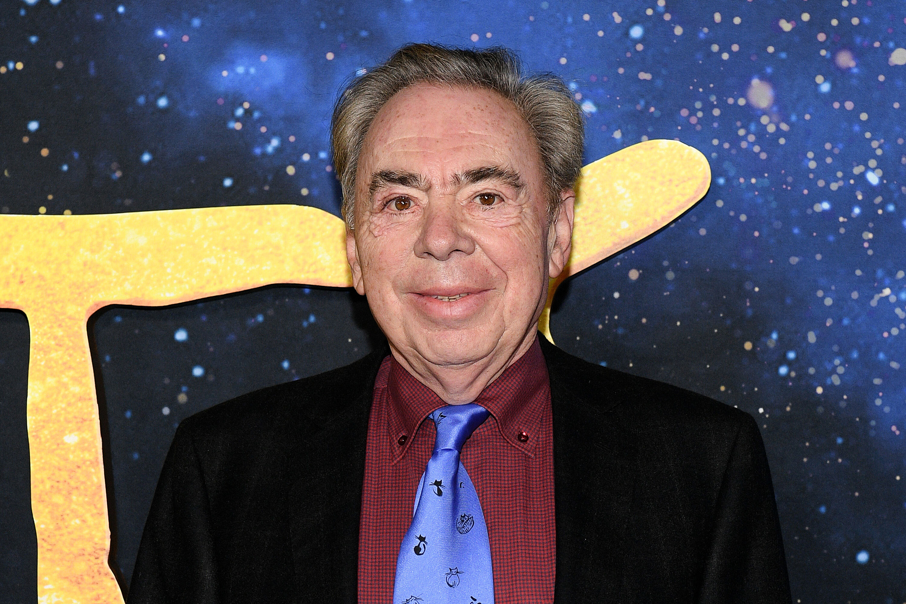 Andrew Lloyd Webber bought a dog because 'Cats' was so bad