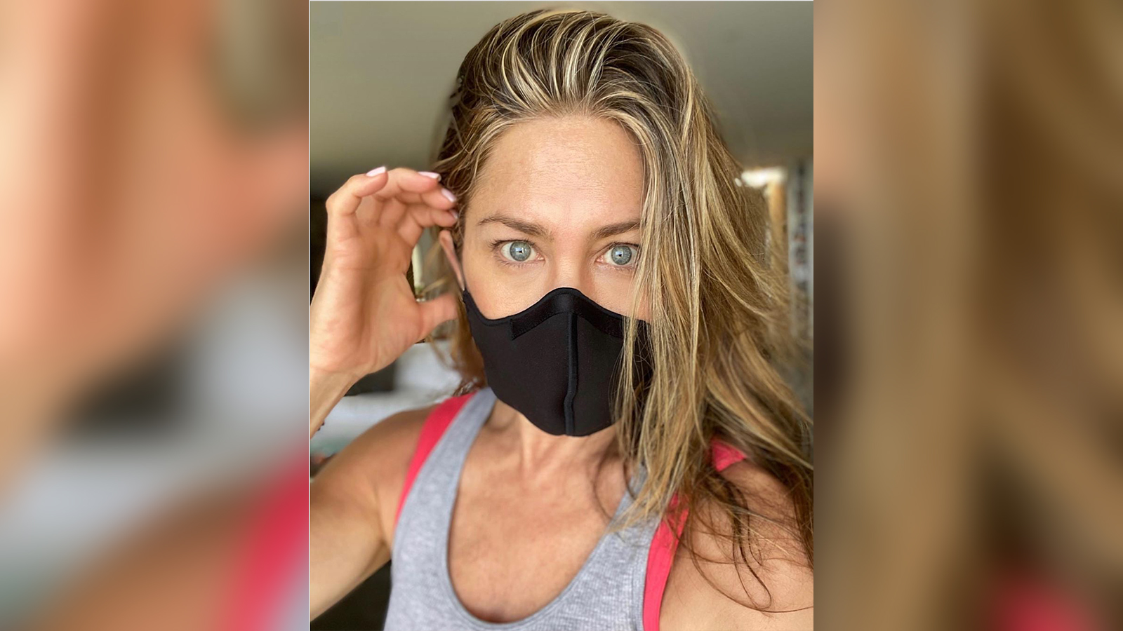 Jennifer Aniston is here with a friendly reminder to 'wear a damn mask'