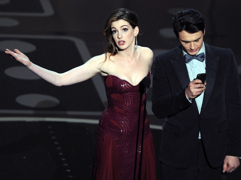 Anne Hathaway and James Franco hosting the 2011 Oscars may have been doomed from the start