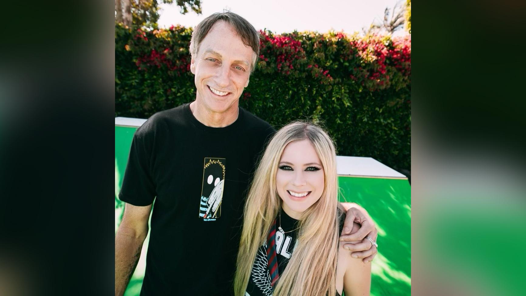 Avril Lavigne partners with real-life 'Sk8er boi' Tony Hawk in TikTok debut