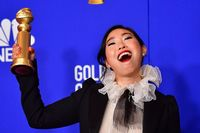 Awkwafina is conducting the New York City Subway's 7 train