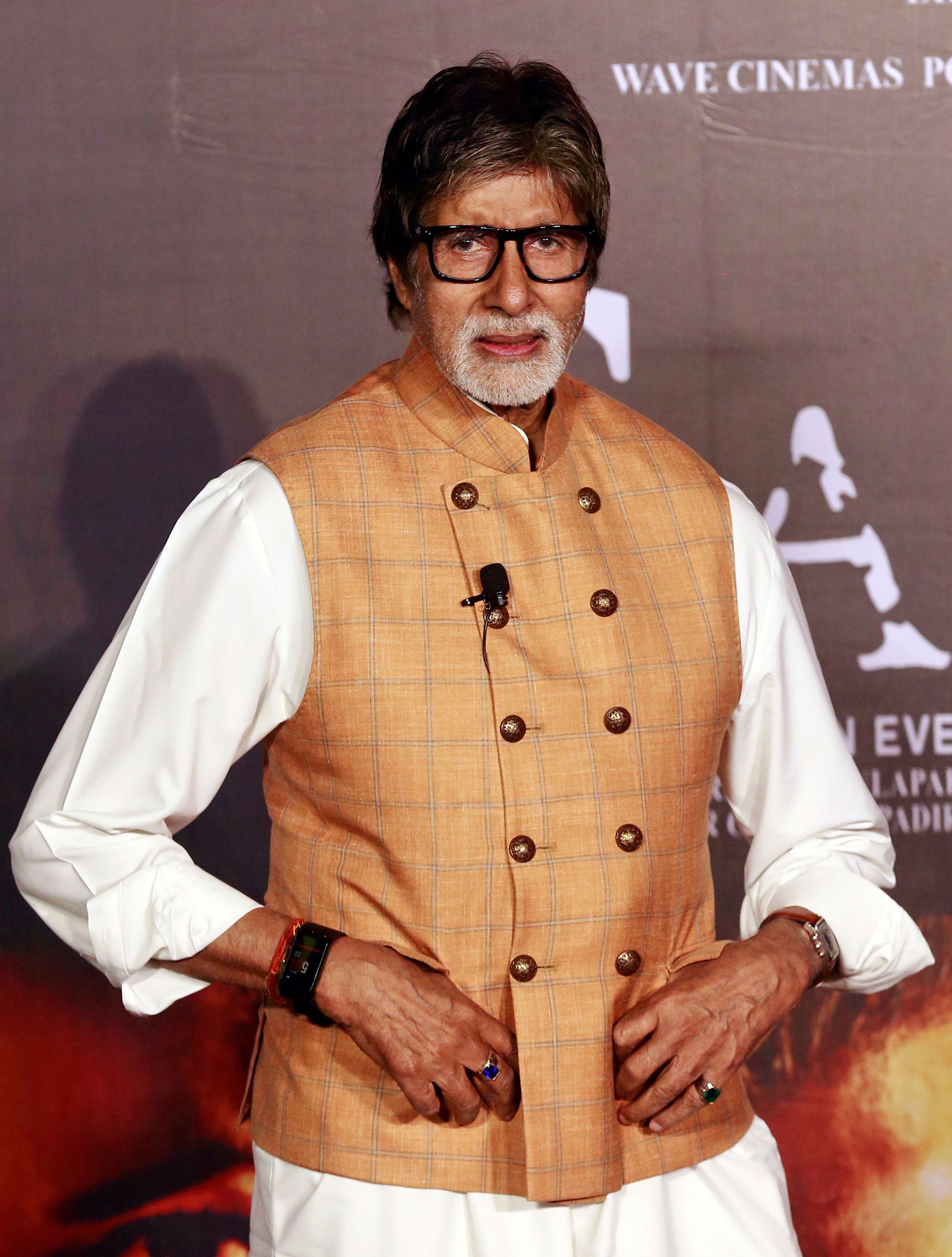 Bollywood superstar Amitabh Bachchan hospitalized for coronavirus with mild symptoms