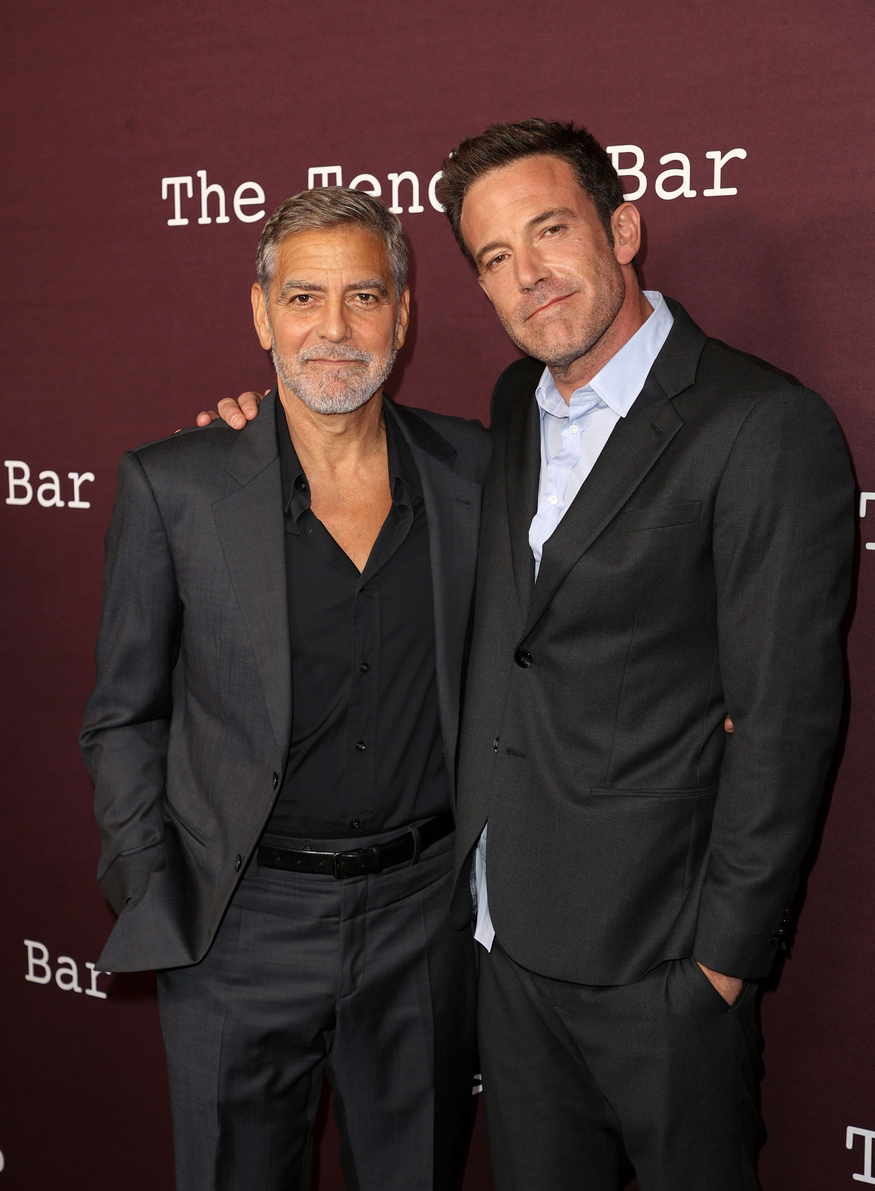 George Clooney jokes he's too short to share the screen with Ben Affleck
