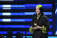Billie Eilish has a history-making night at the Grammys