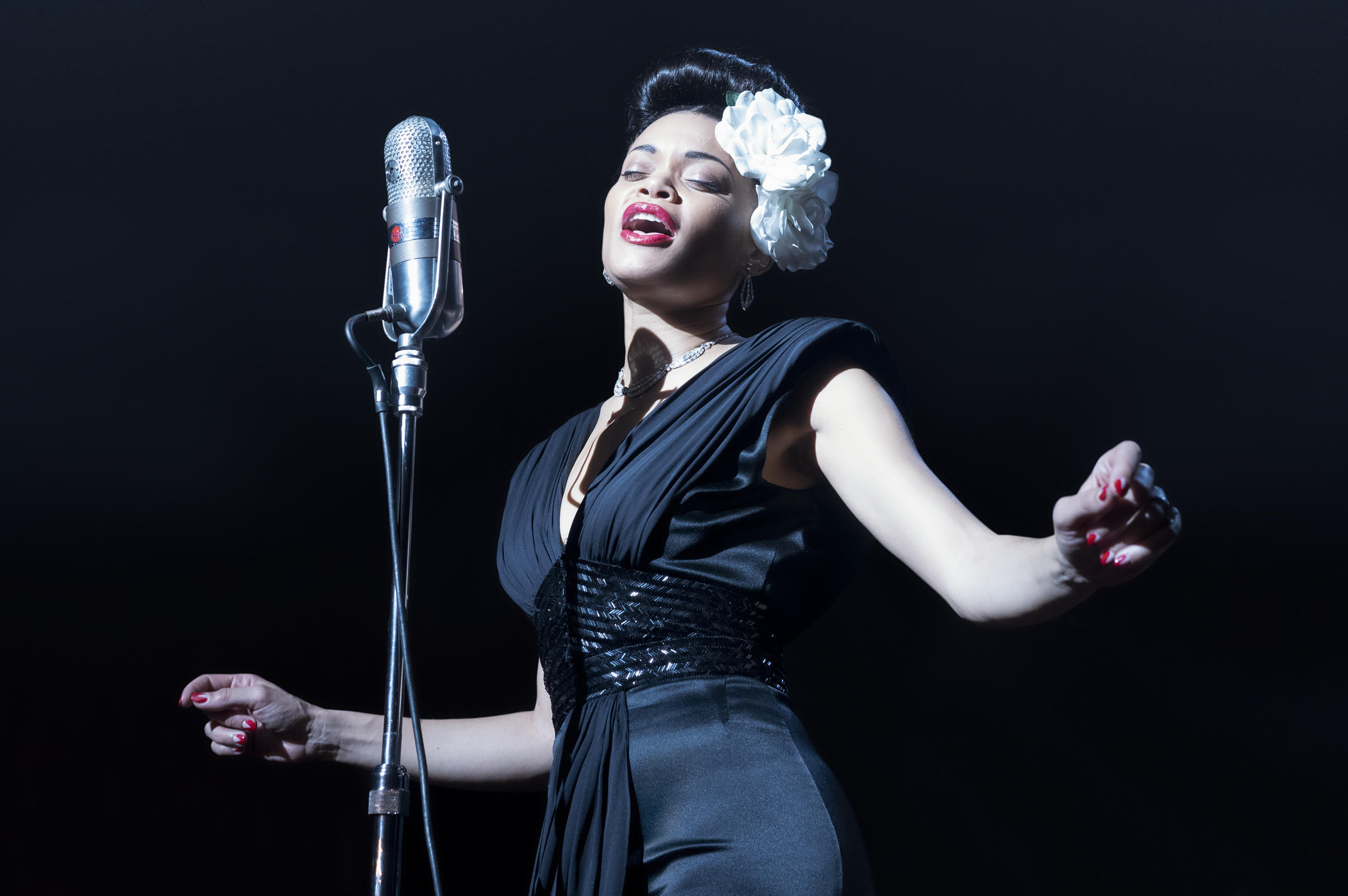 'The United States vs. Billie Holiday' lets Andra Day deliver its high notes
