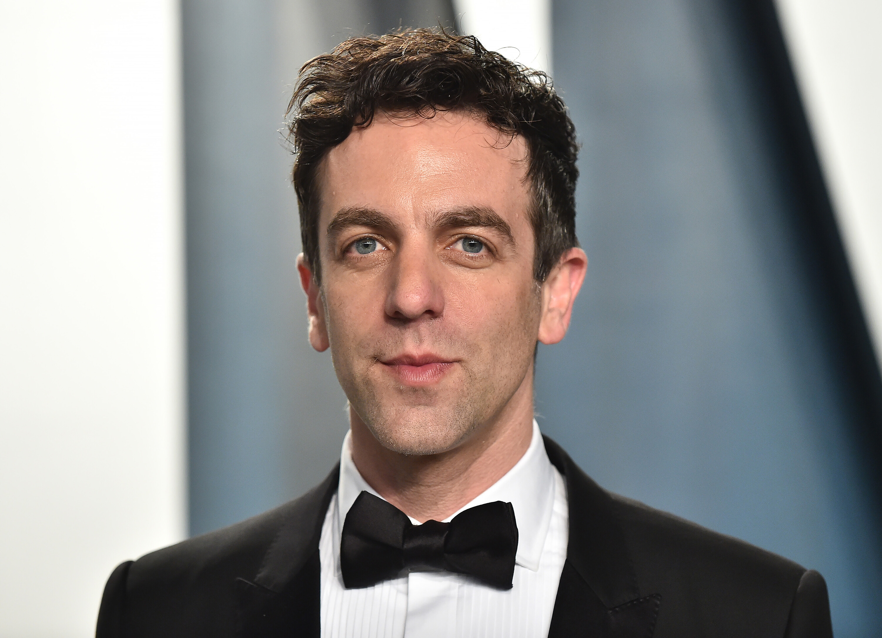 B.J. Novak's face is everywhere and he's ok with it