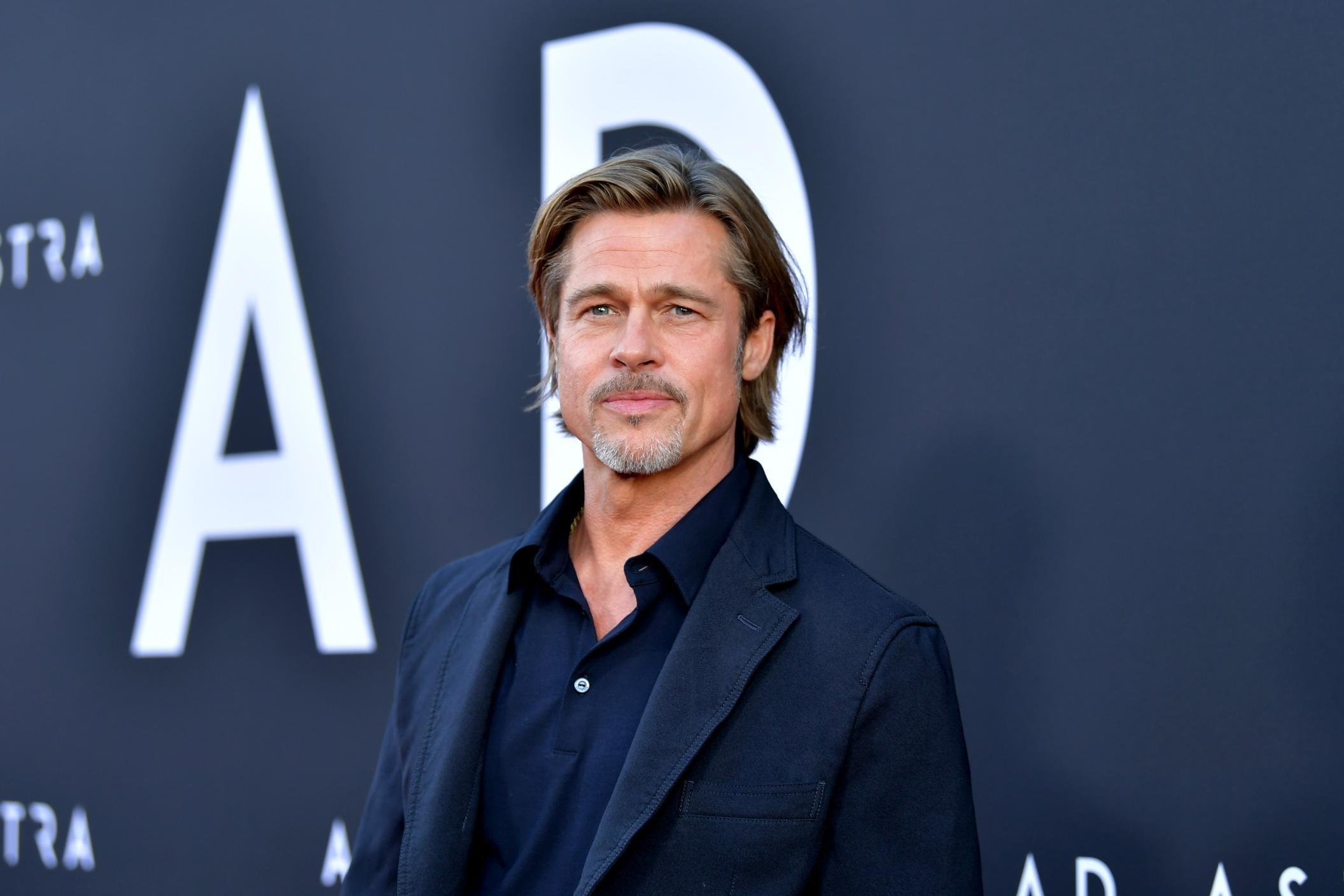 Brad Pitt cries more than he used to