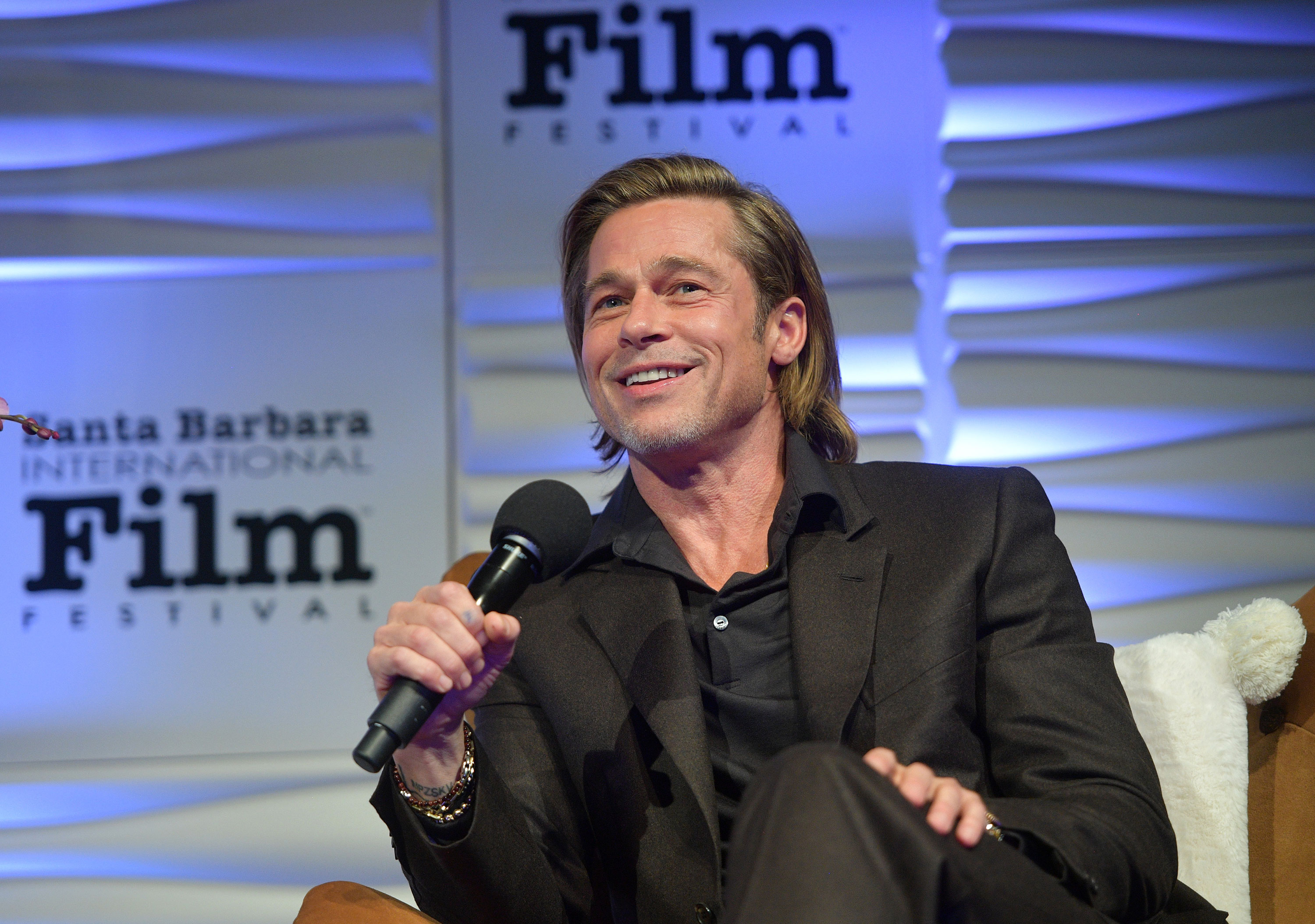 Brad Pitt is the new toastmaster of awards season