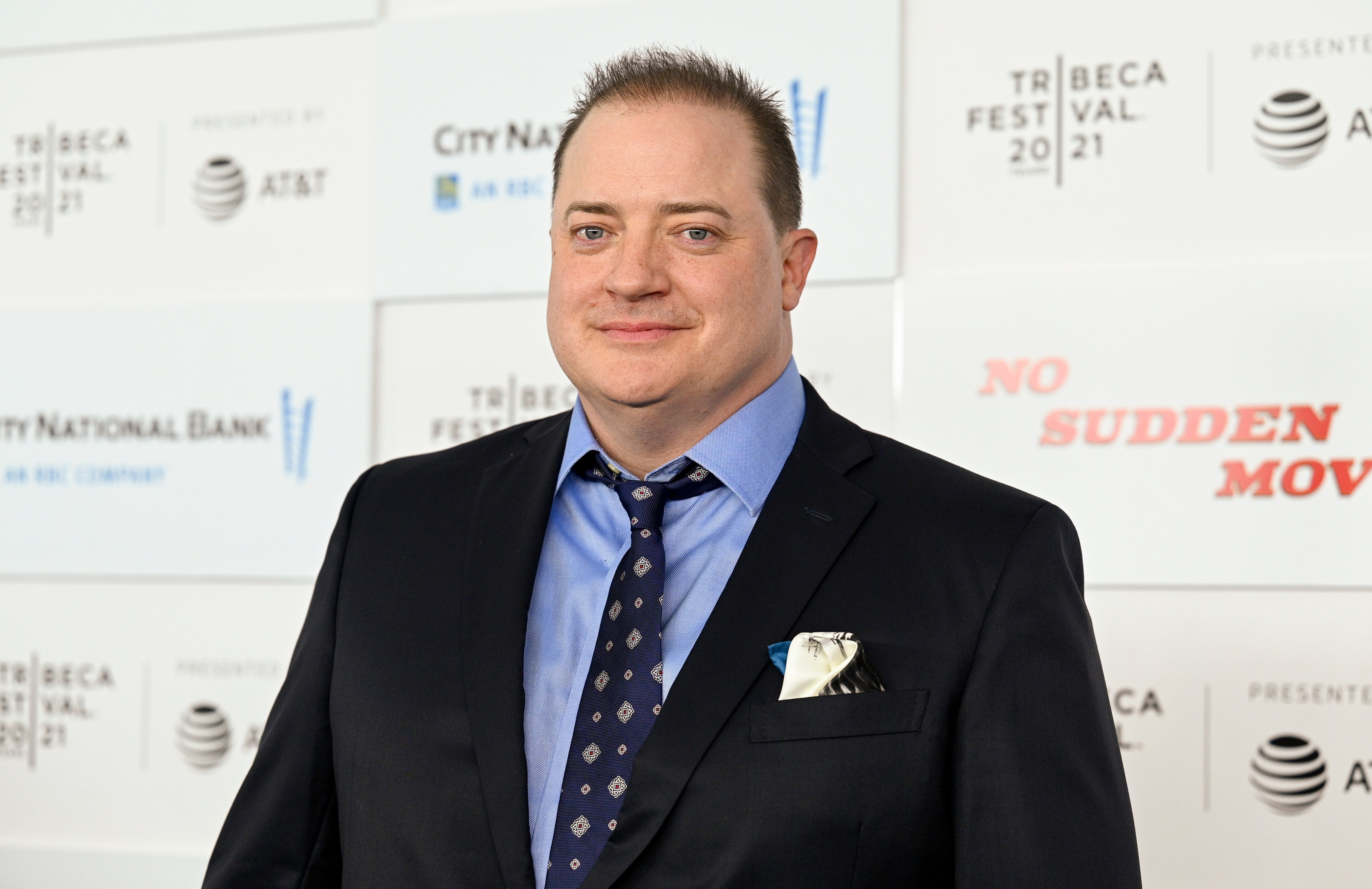 Brendan Fraser looks different after playing a 600-pound man