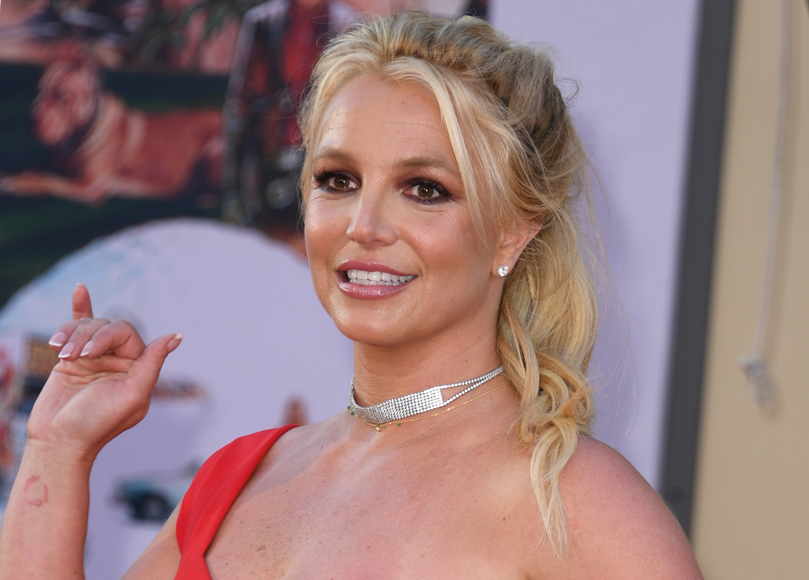 Britney Spears is 'flattered' people care so much