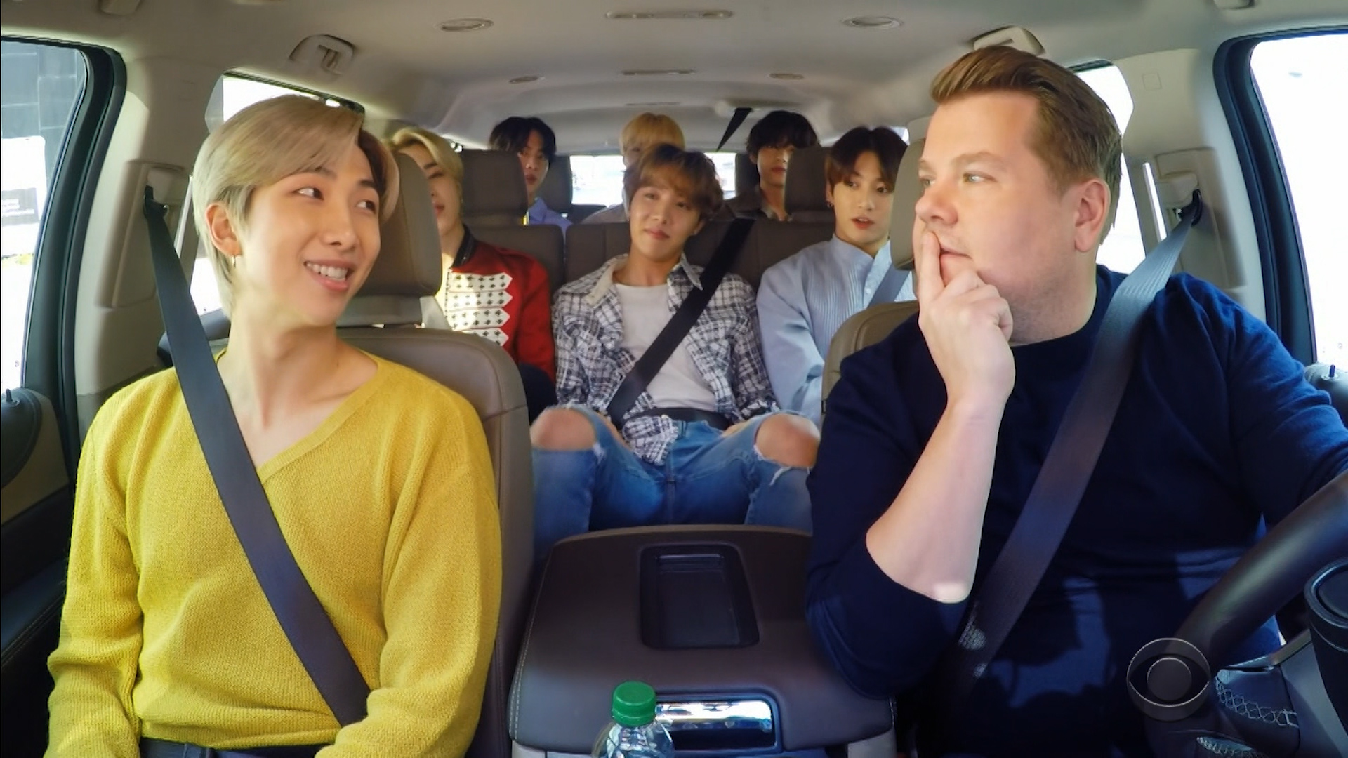 BTS jams out in 'Carpool Karaoke' debut