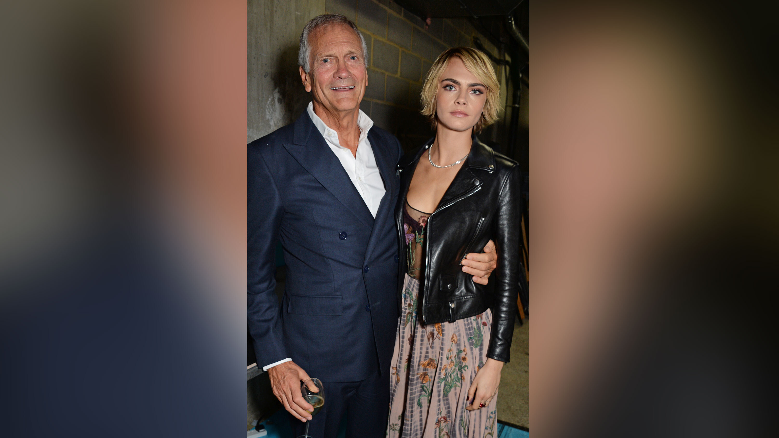 Cara Delevingne's father suggests she was named after in-flight magazine