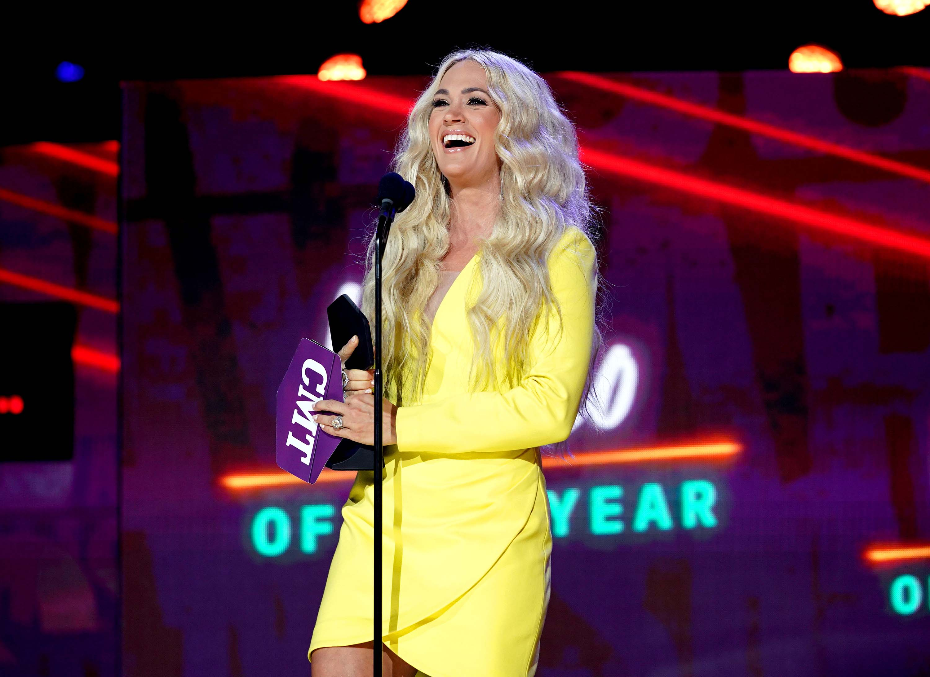 Carrie Underwood and John Legend win Video of the Year at CMT Music Awards