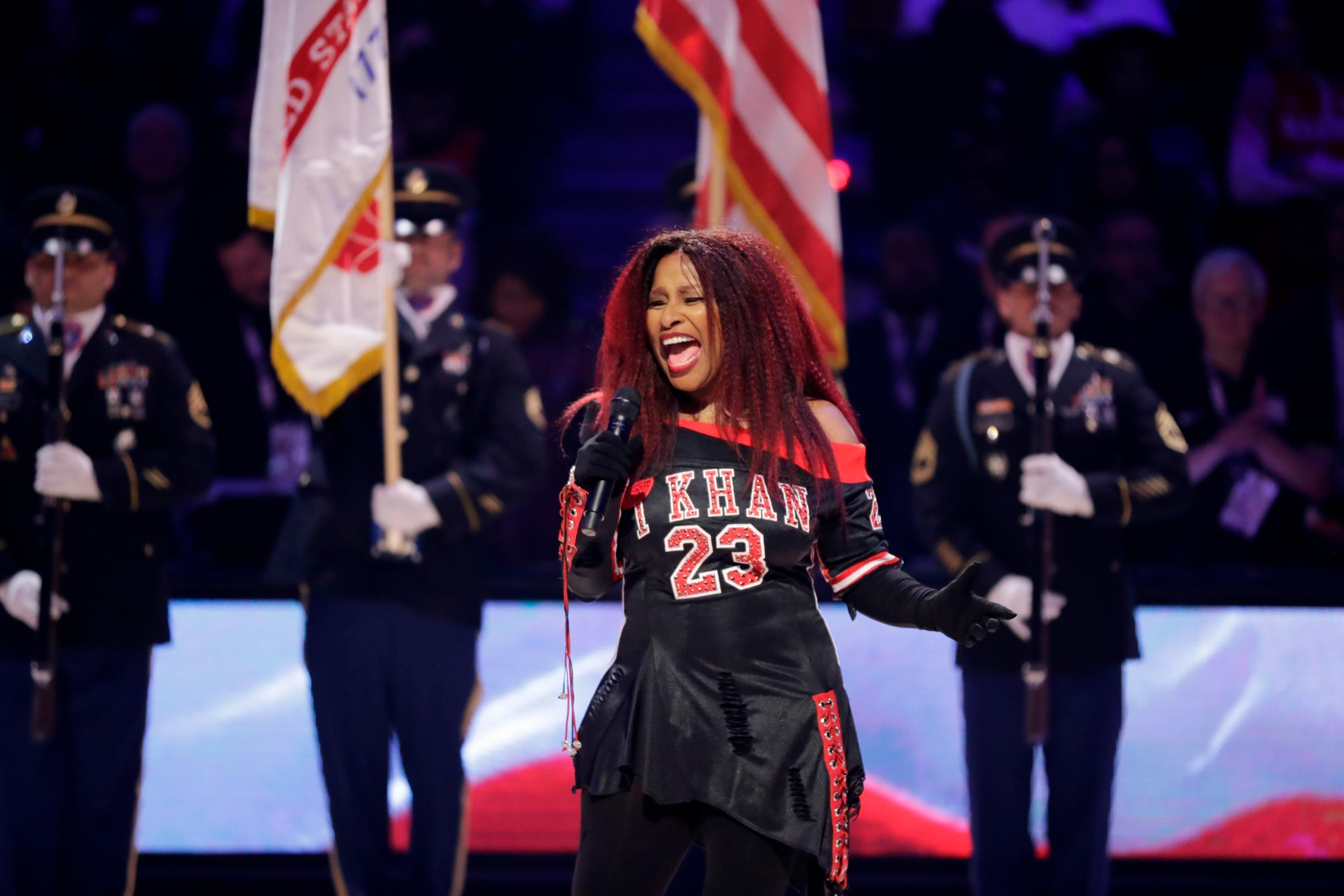 Chaka Khan's All-Star performance roasted
