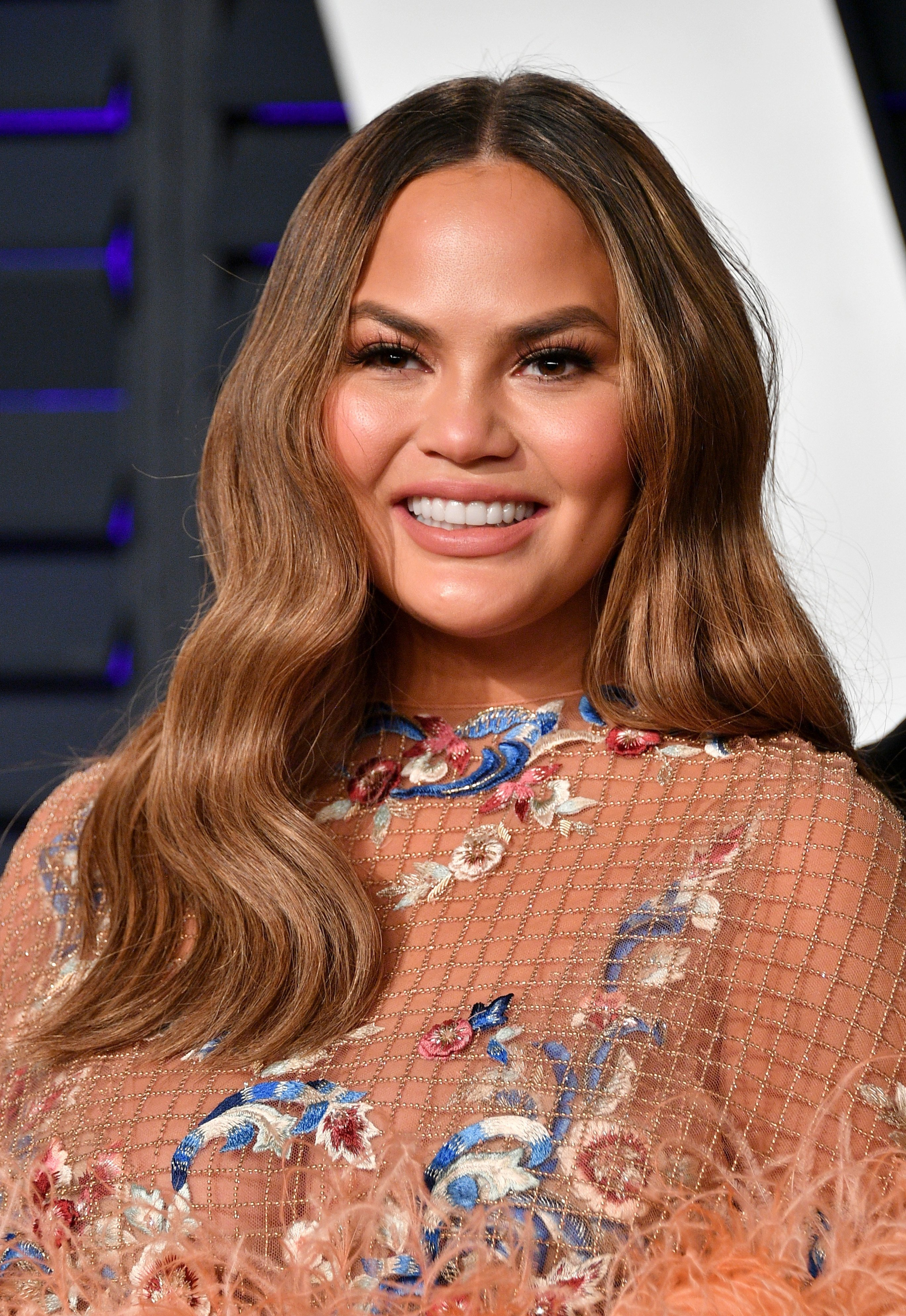Chrissy Teigen makes room for new award by removing John Legend's Grammys from living room
