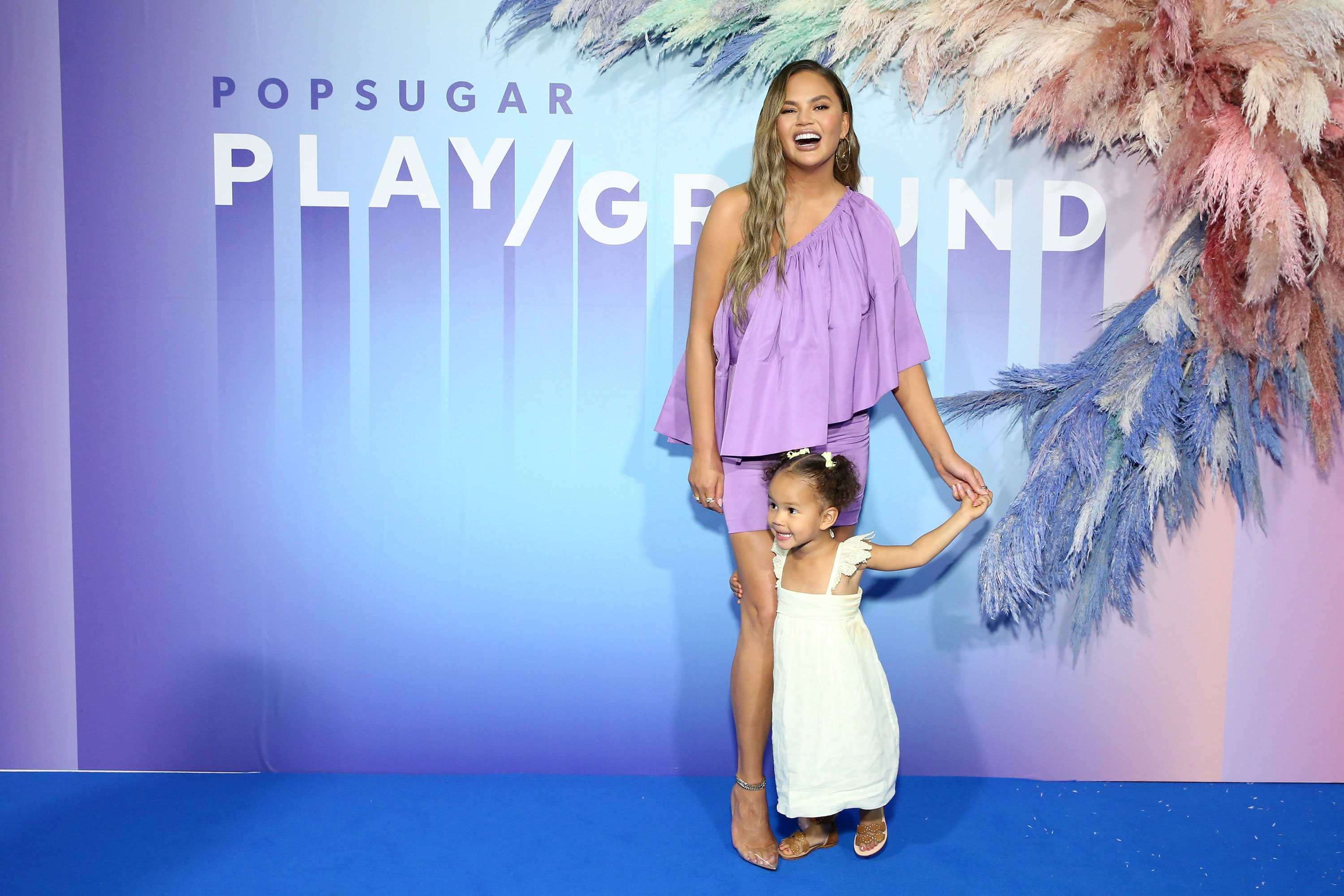 Chrissy Teigen and John Legend's daughter has an announcement: she's in love